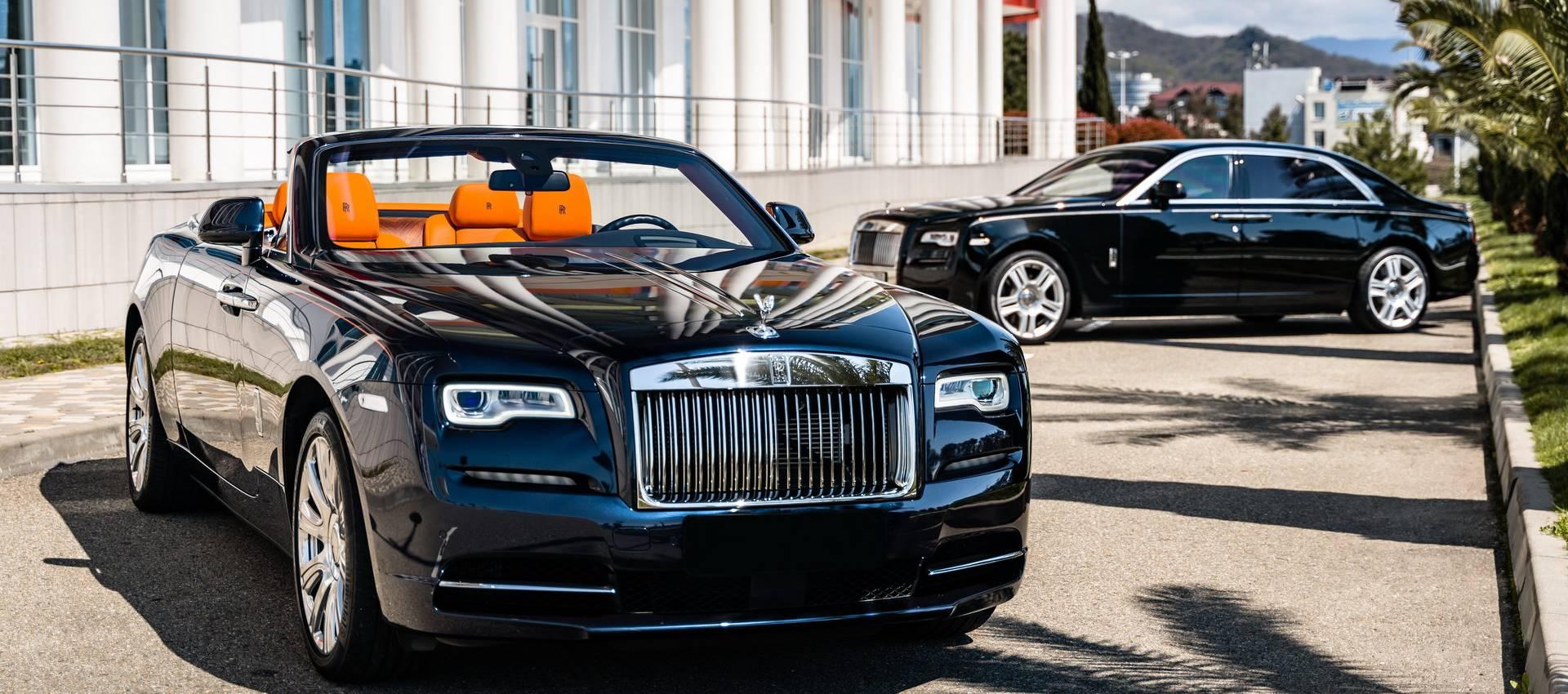 Аренда Rolls-Royce в Сочи