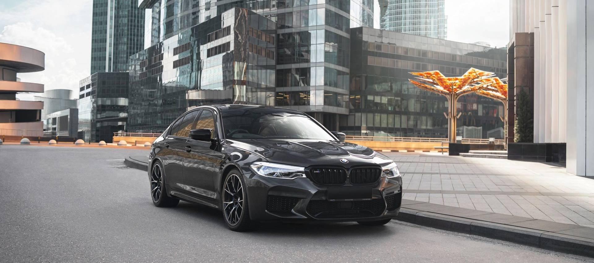 Аренда BMW M5 Competition в Москве
