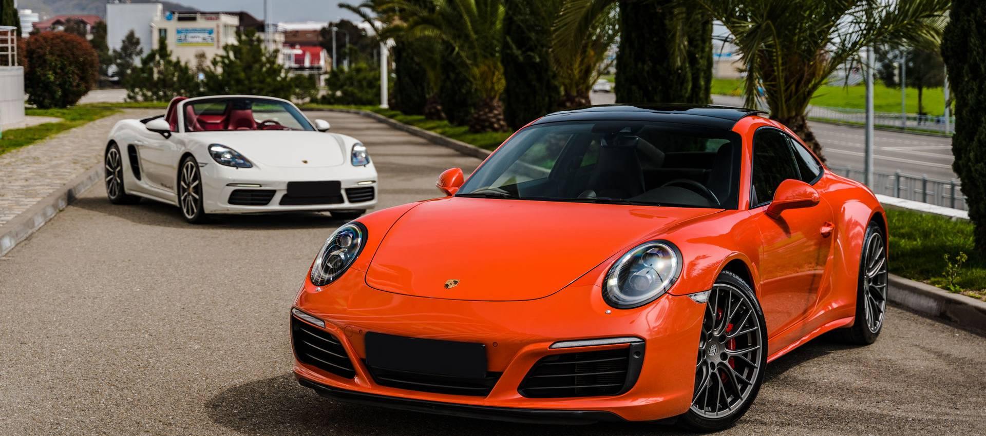 Аренда автомобилей Porsche в Сочи