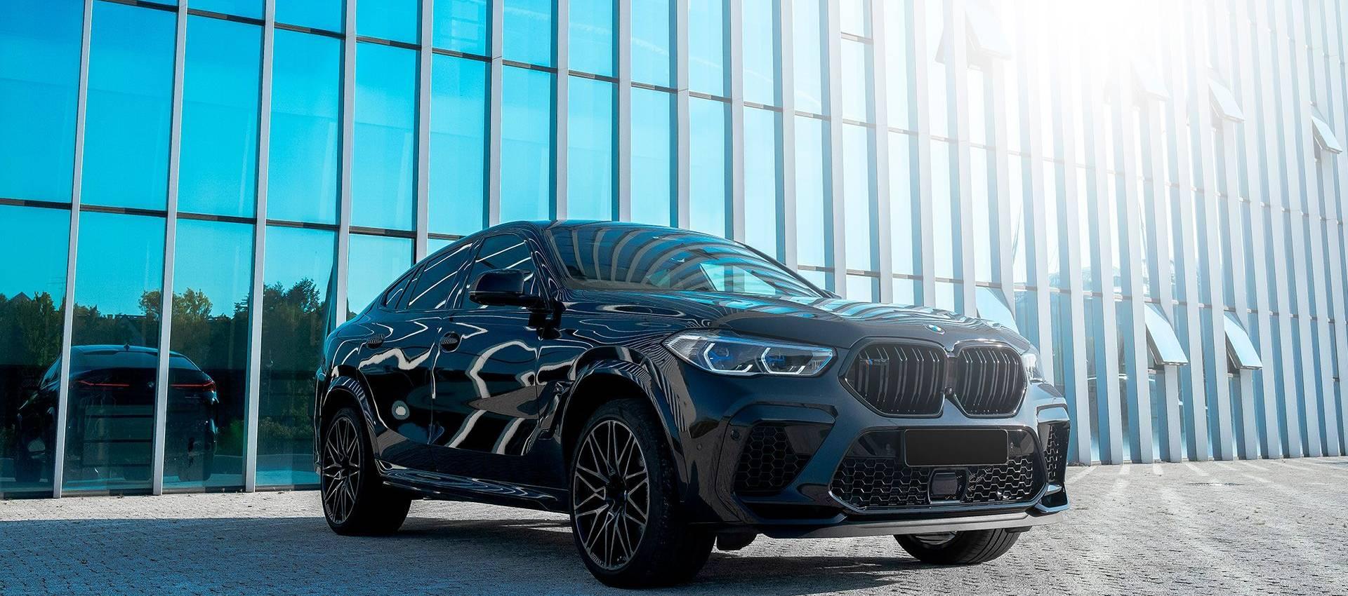 Аренда BMW X6 Competition в Москве