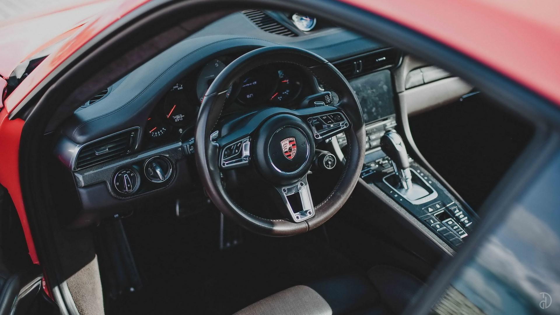 Porsche 911 Carrera 4S. Фото 9