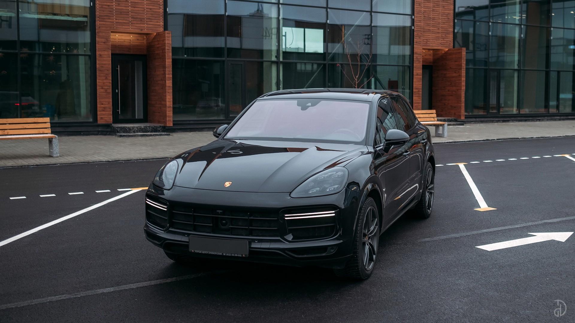 Porsche Cayenne Turbo. Фото 4