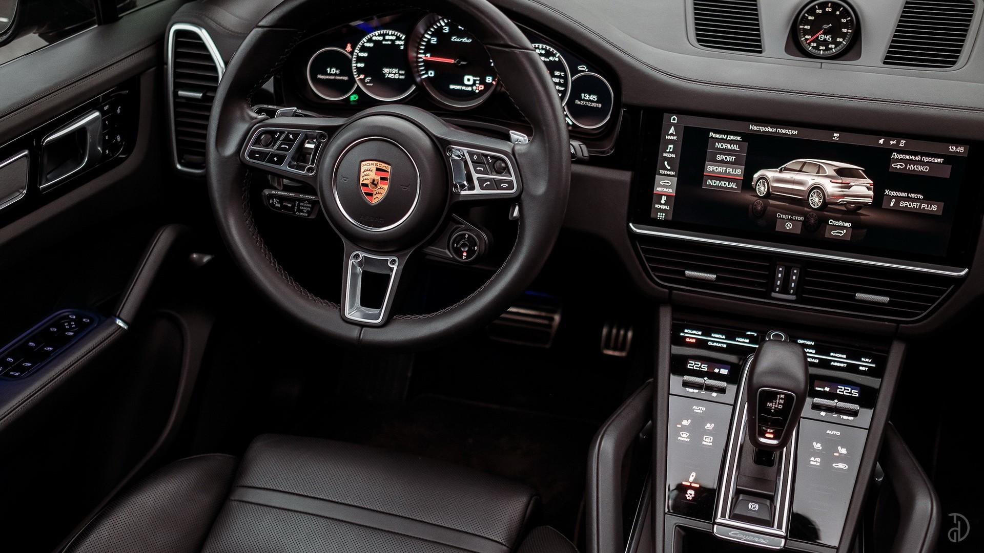 Porsche Cayenne Turbo. Фото 12