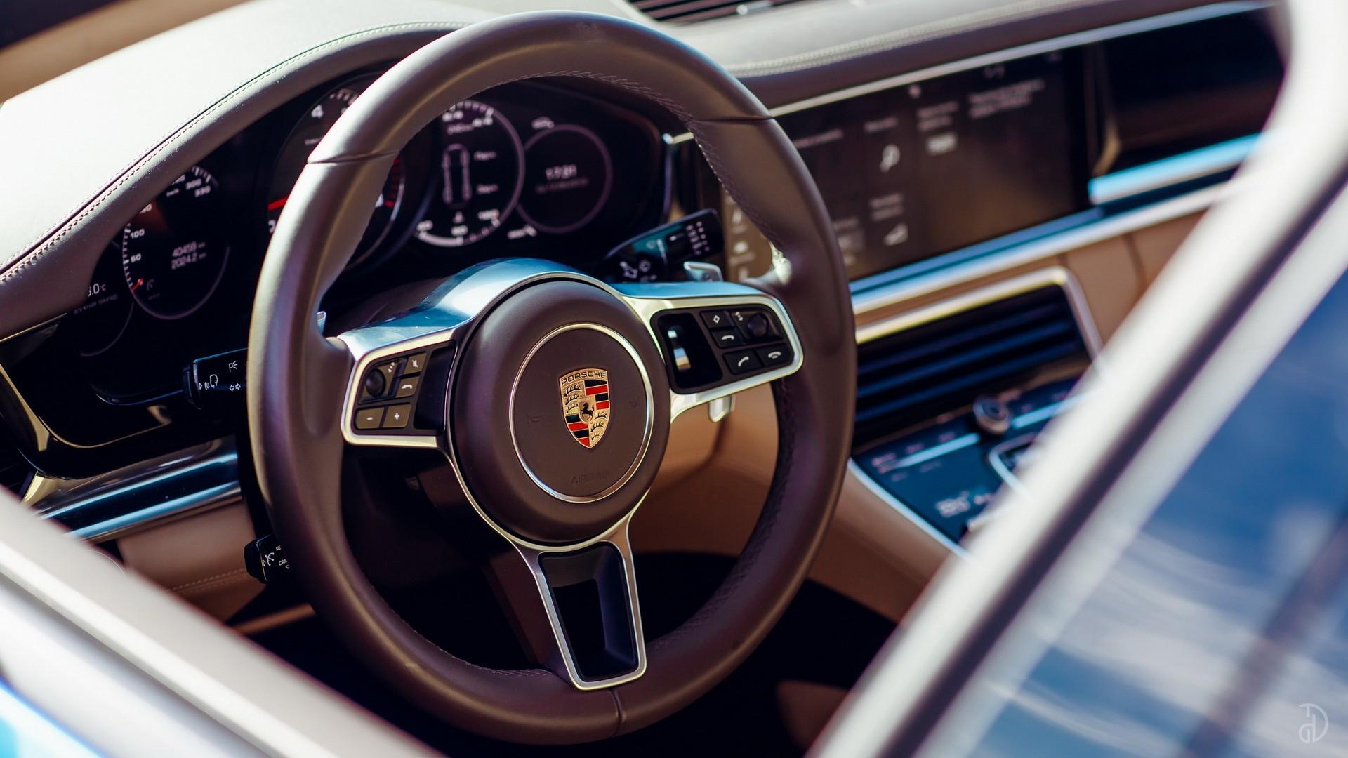 Porsche Panamera 4S. Фото 9