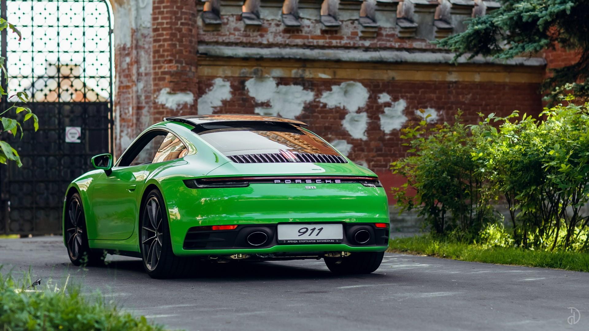 Аренда Porsche 911 Carrera 4S 992 в Москве. Фото 5