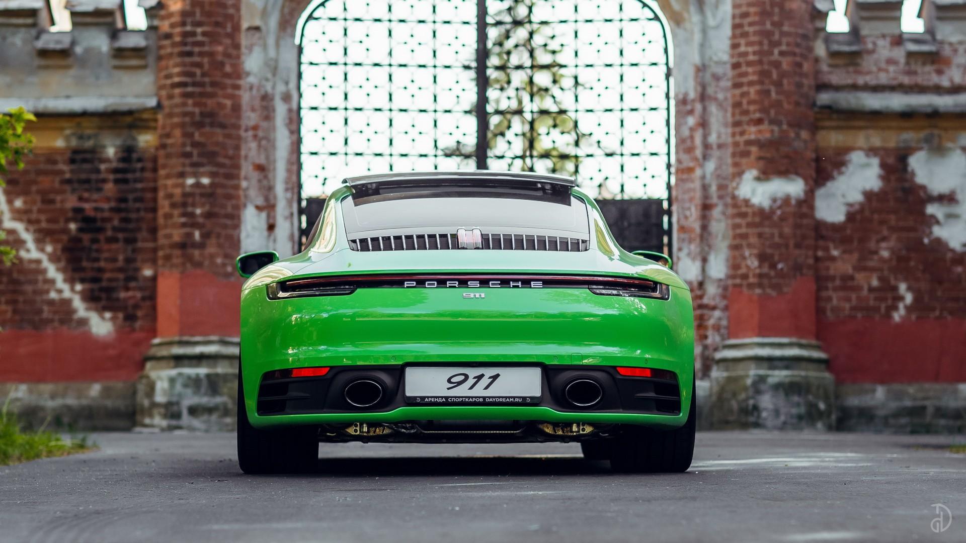 Аренда Porsche 911 Carrera 4S 992 в Москве. Фото 6