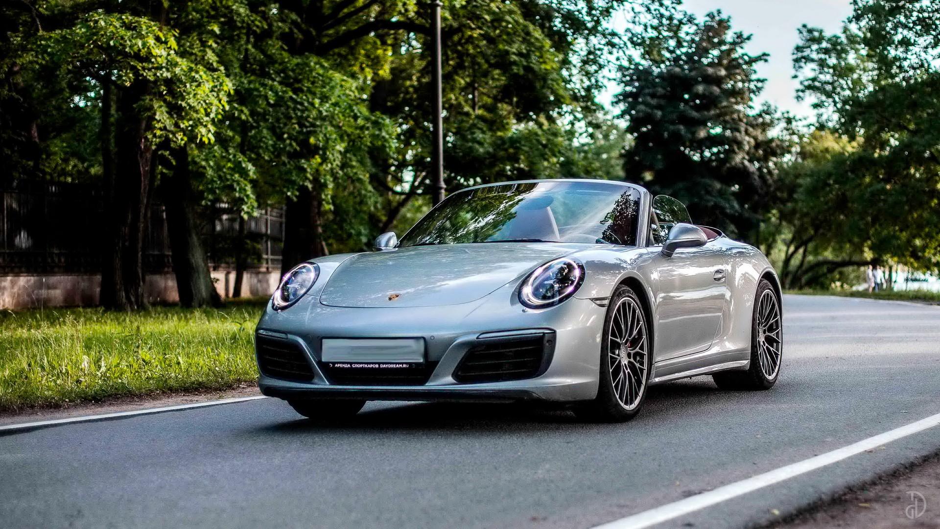 Аренда Porsche 911 Carrera 4S Cabriolet в Москве. Фото 2