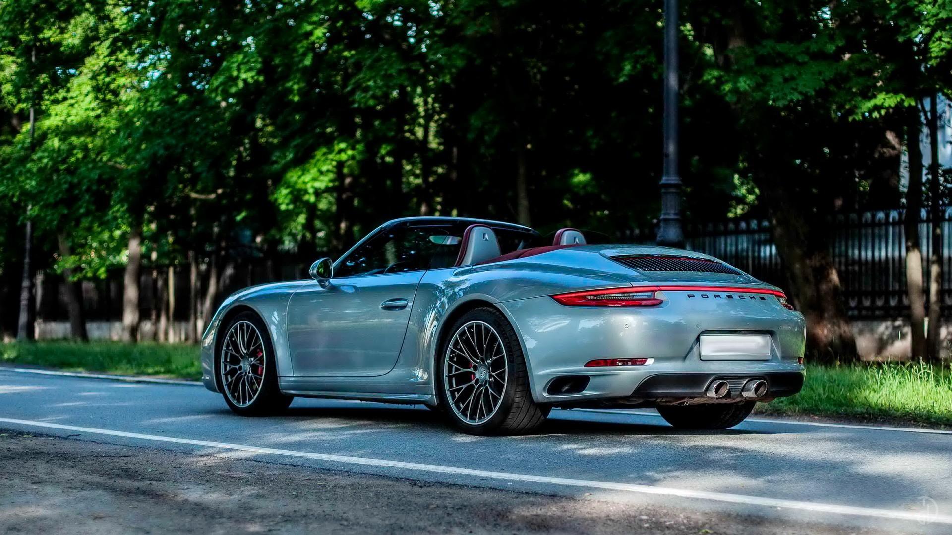 Porsche 911 Carrera 4S Cabriolet. Фото 4