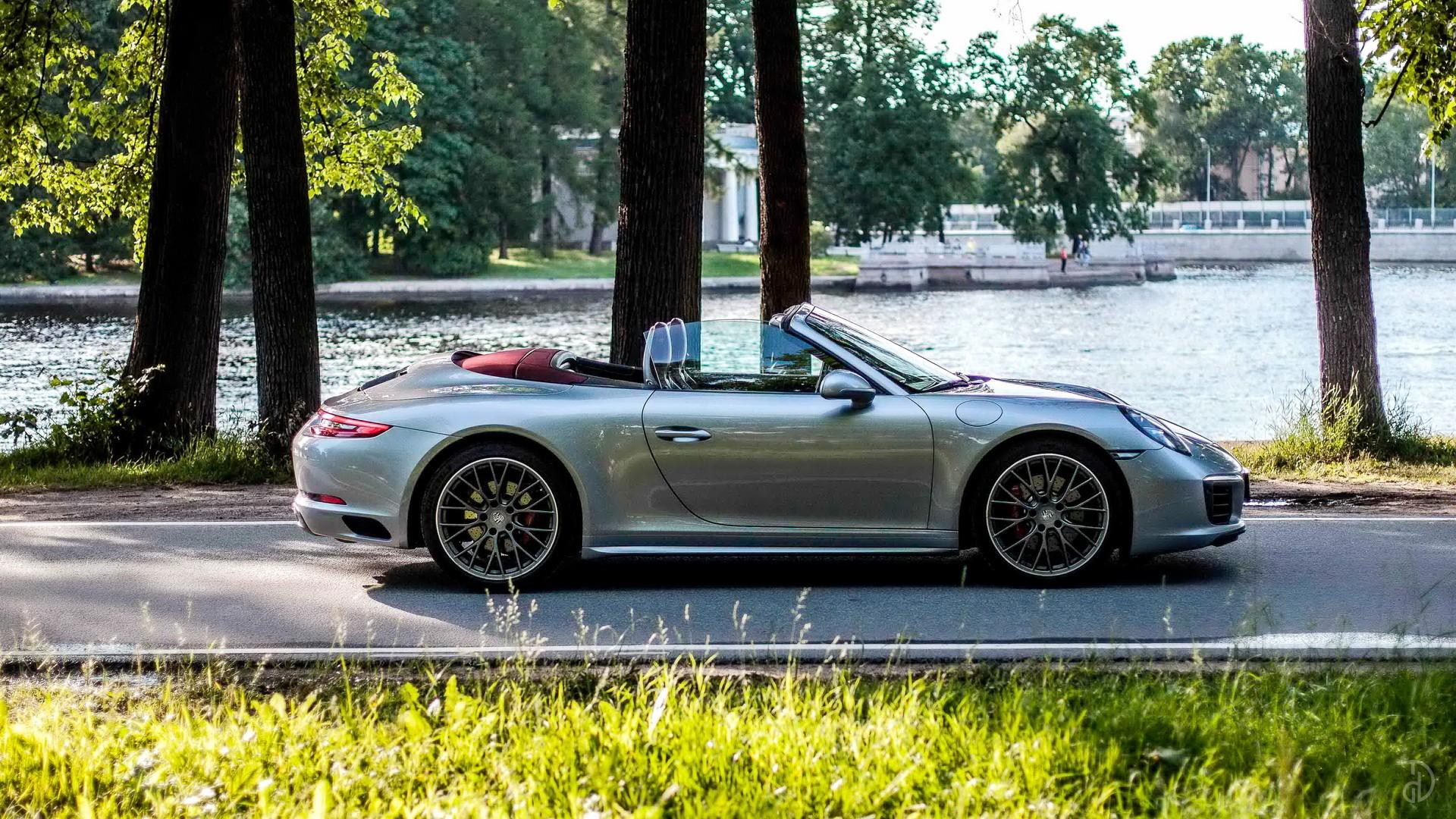 Аренда Porsche 911 Carrera 4S Cabriolet в Москве. Фото 7