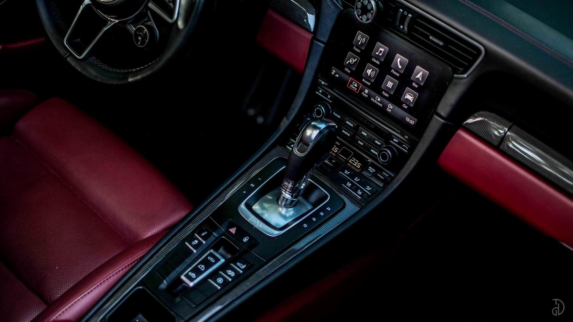 Porsche 911 Carrera 4S Cabriolet. Фото 9