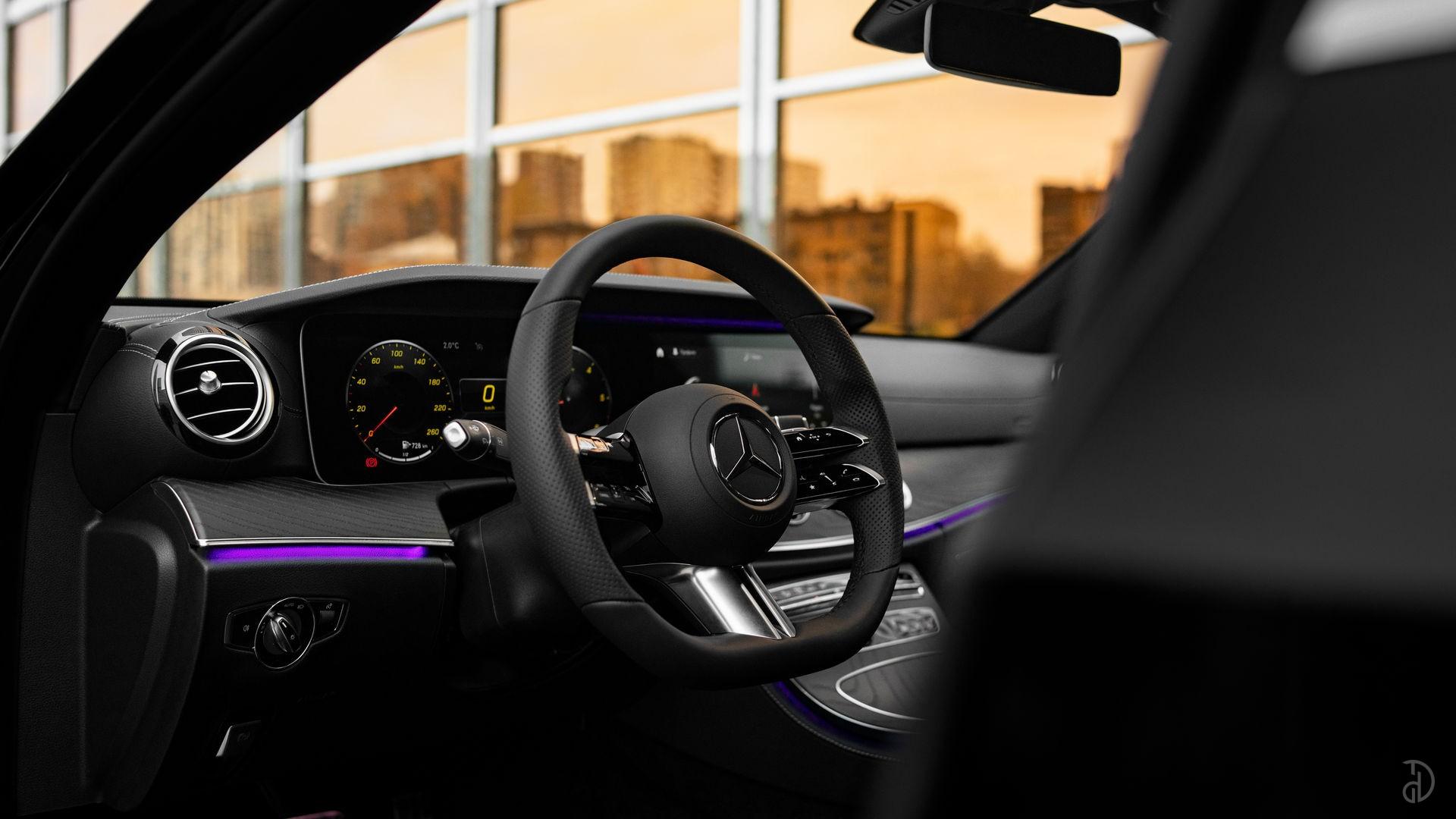 Аренда Mercedes E220d AMG Restyling 2020 в Москве. Фото 12