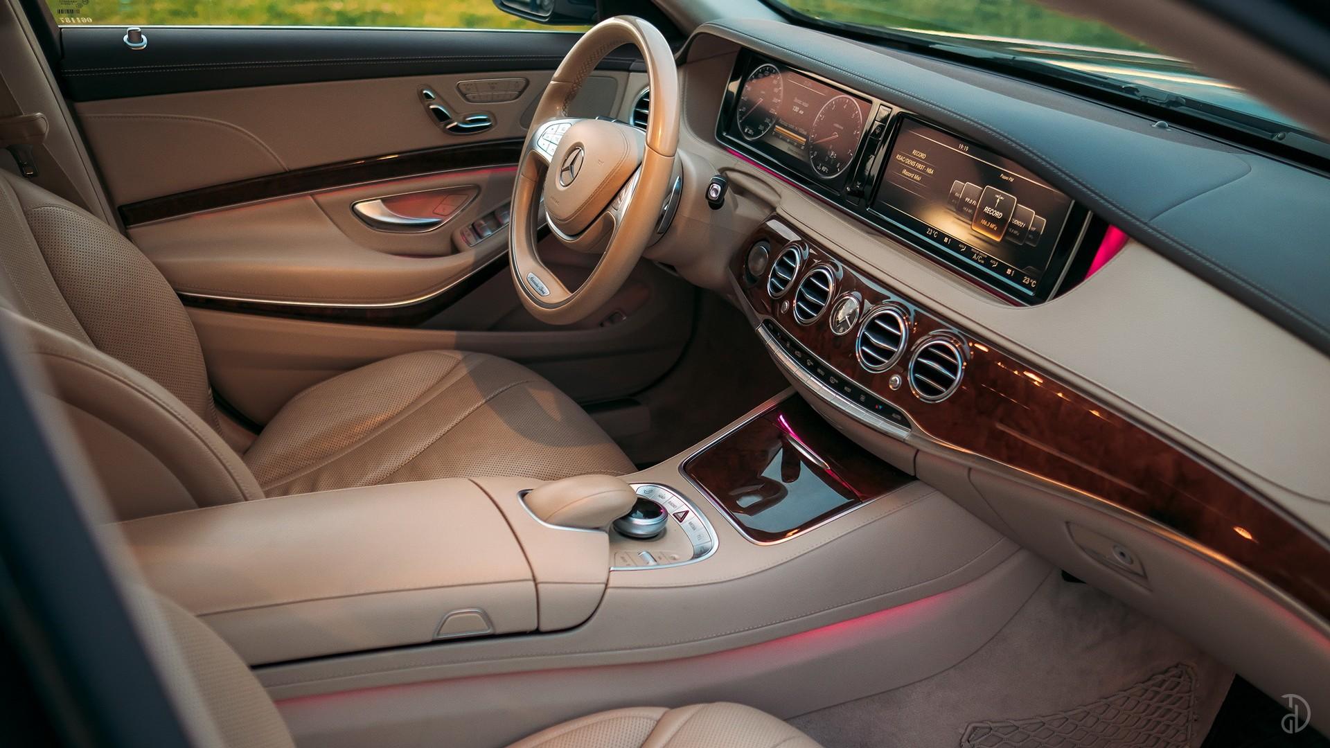 Mercedes S 500 (W222). Фото 11