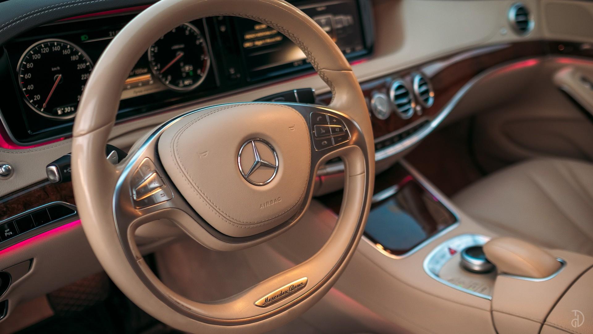 Mercedes S 500 (W222). Фото 12