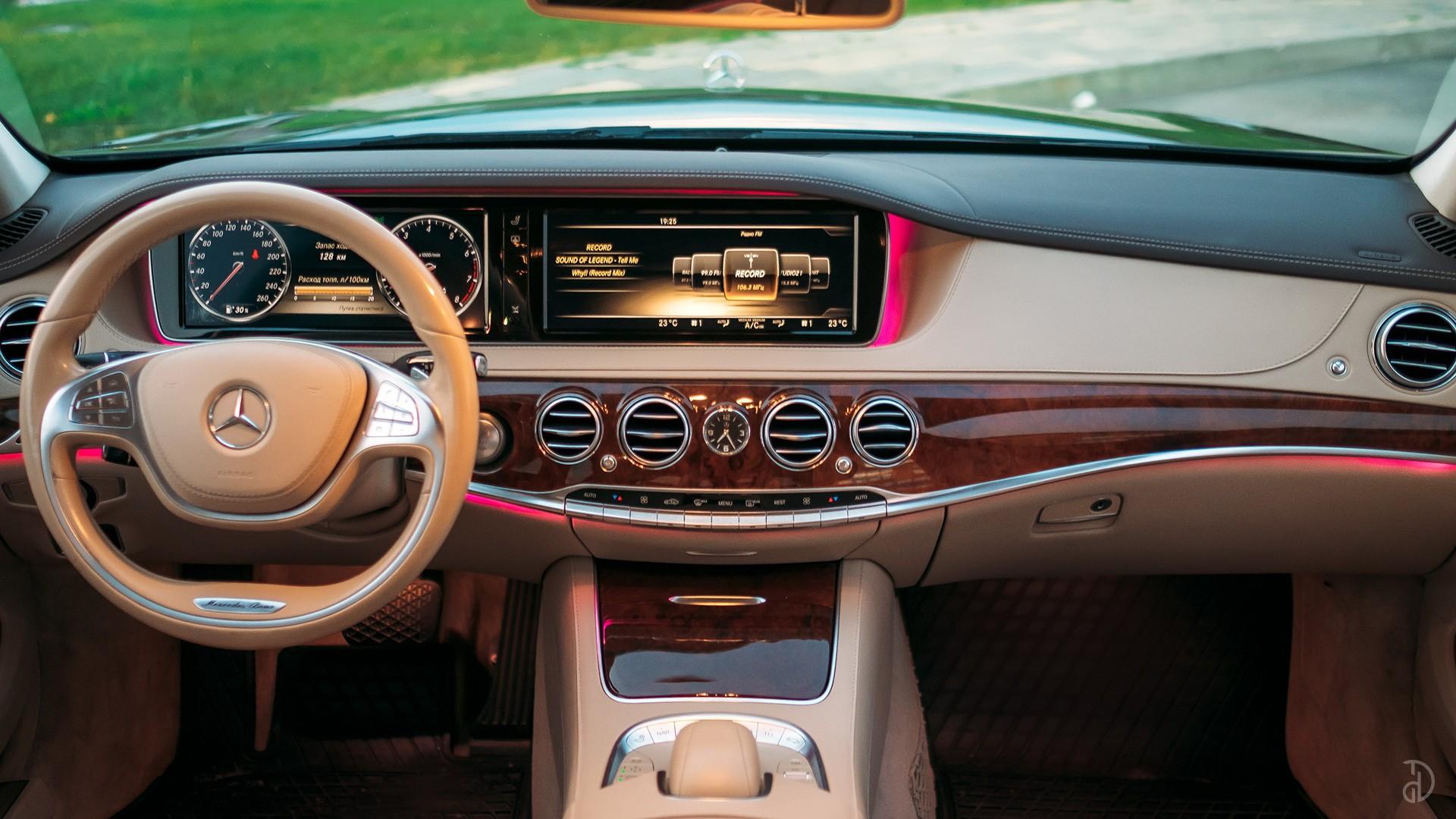 Mercedes S 500 (W222). Фото 16