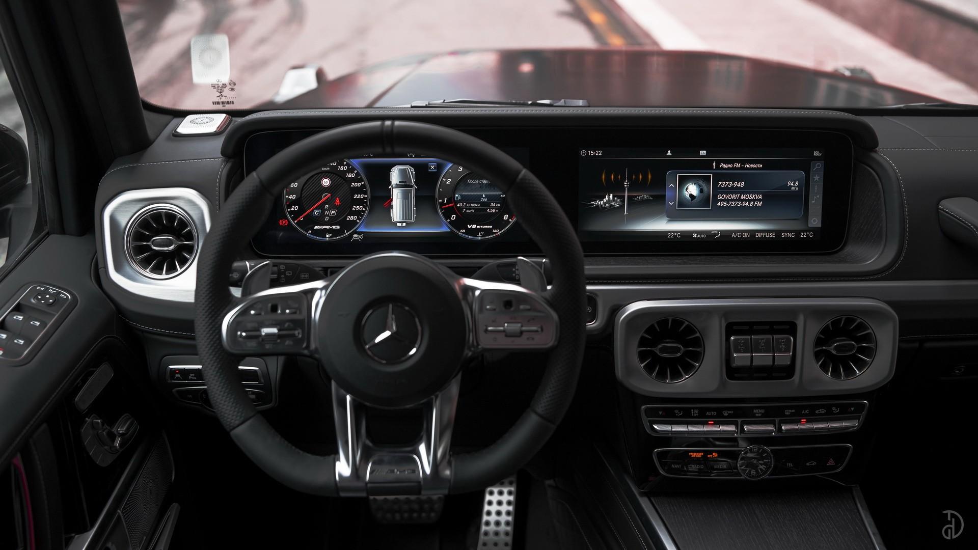 Аренда Гелендвагена Mercedes G 63 AMG 2020 в Москве. Фото 19