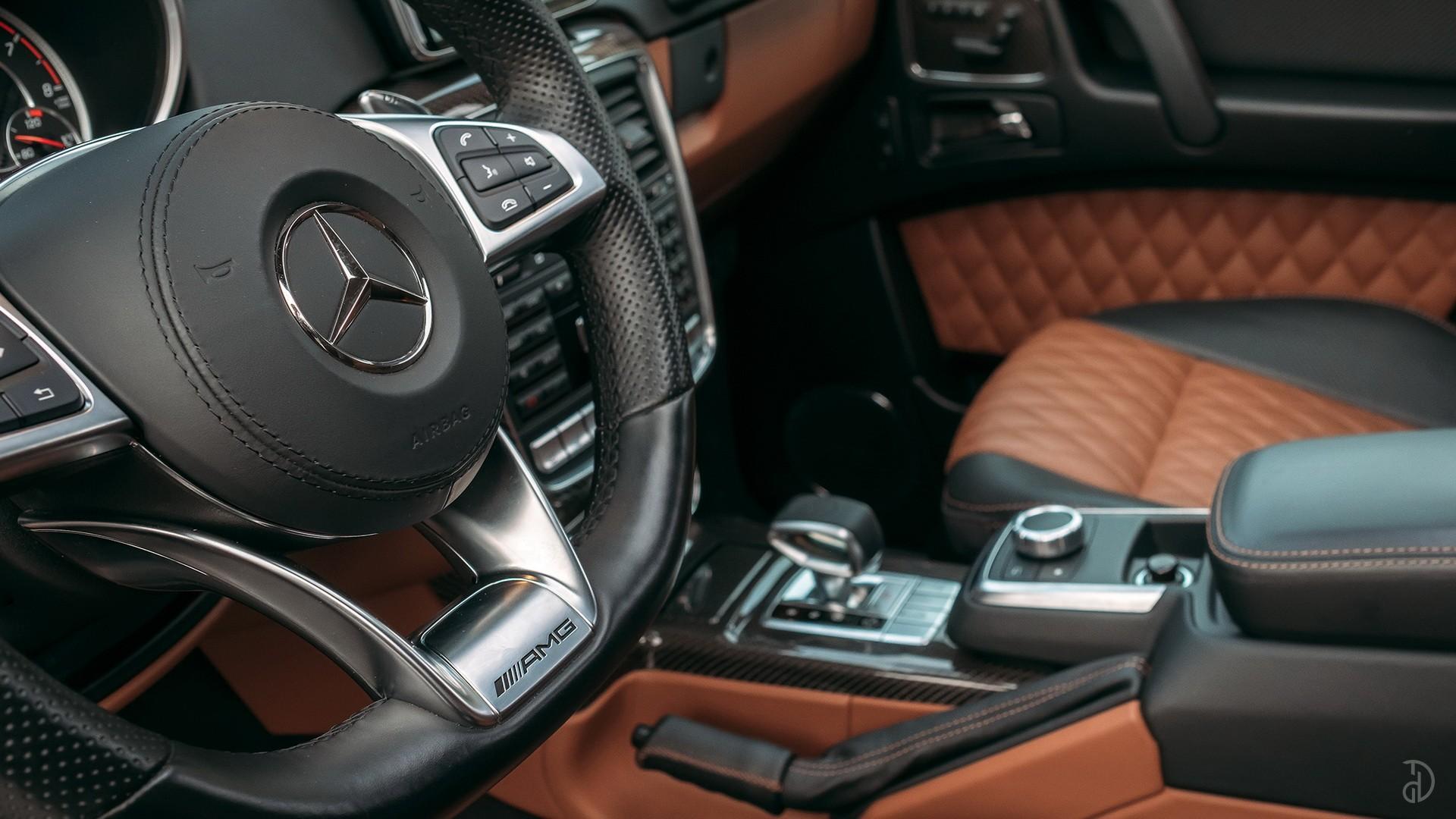 Mercedes G 63 AMG (Гелендваген). Фото 13