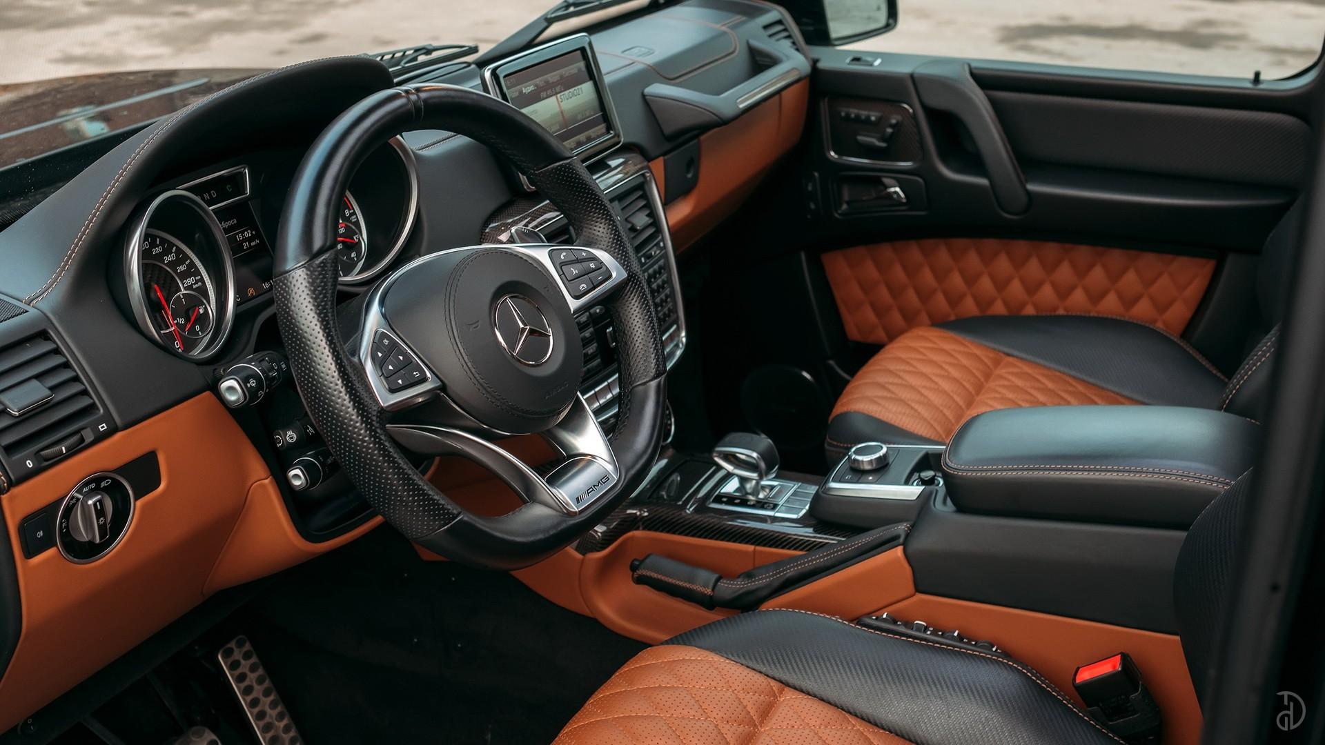 Mercedes G 63 AMG (Гелендваген). Фото 15