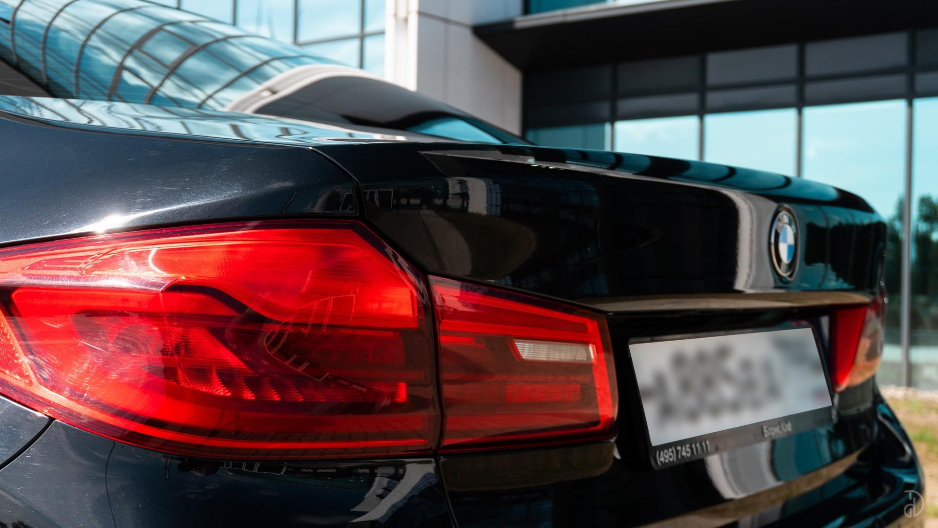Аренда BMW 520d G30 в Москве. Фото 8