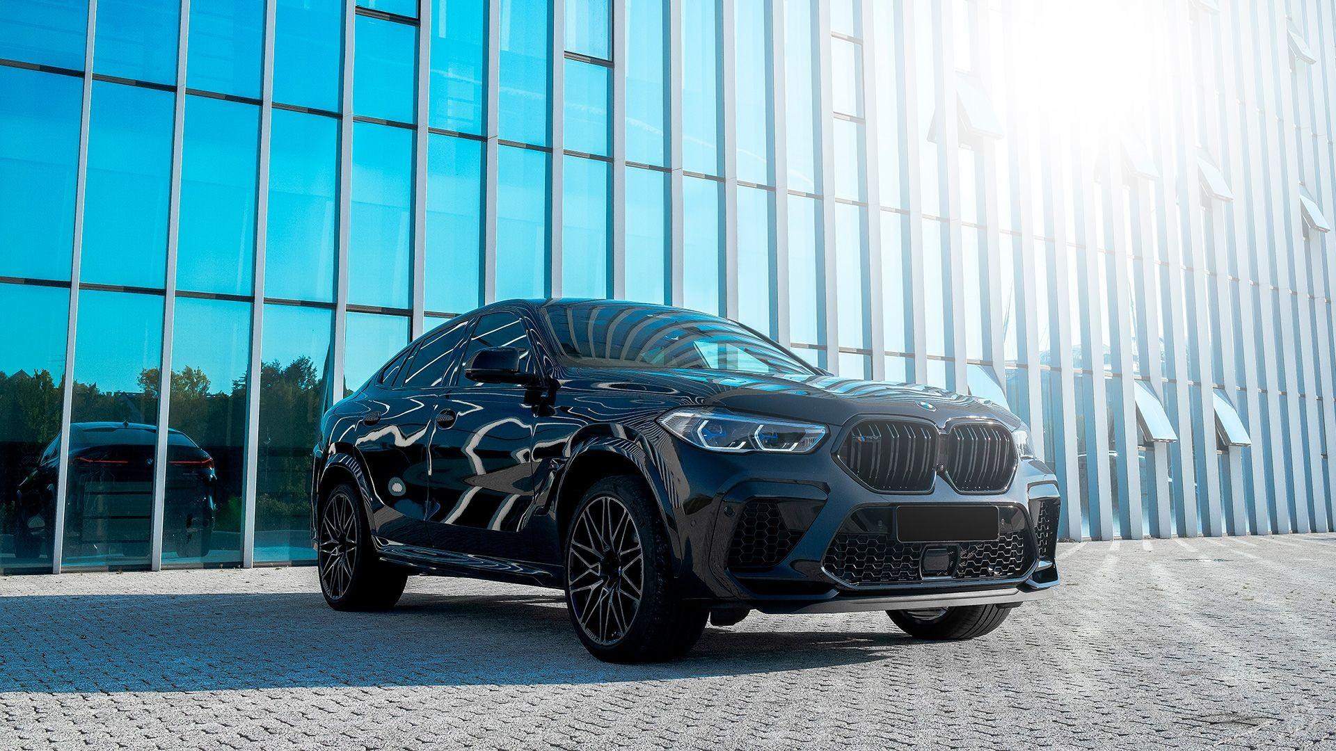 Аренда BMW X6 Competition в Москве. Фото 1