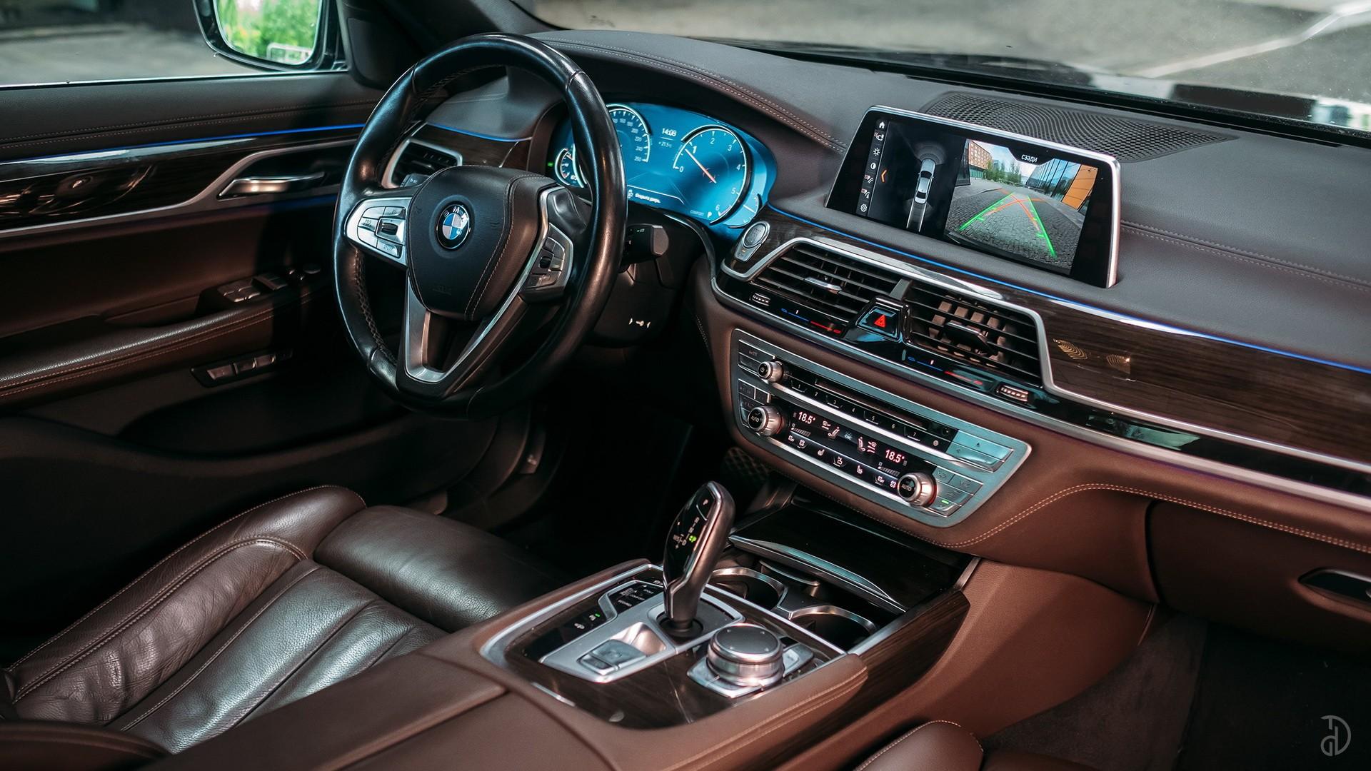 BMW 7 (730 L). Фото 11