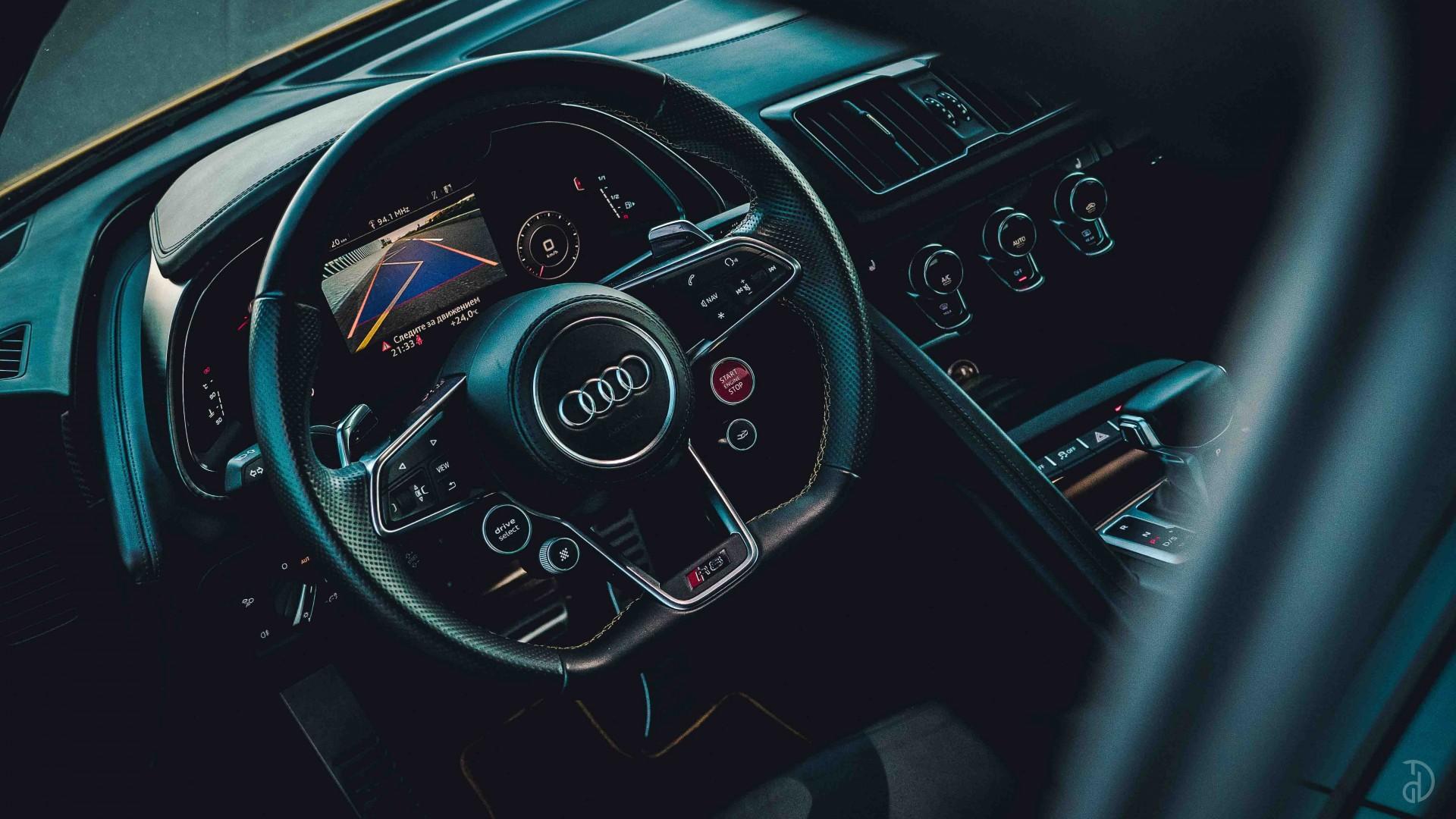 Аренда Audi R8 в Москве. Фото 8
