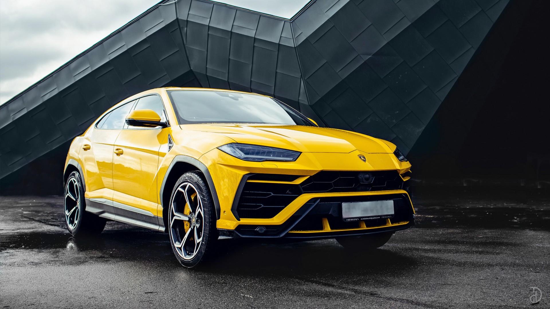 Lamborghini Urus. Фото 1