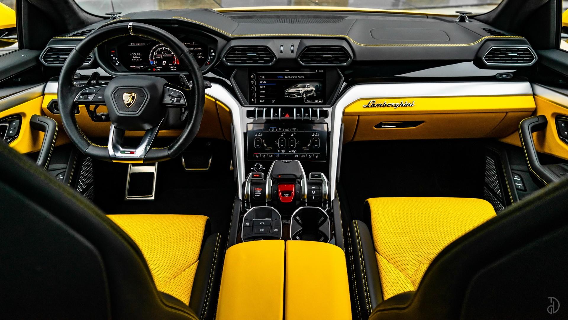 Lamborghini Urus. Фото 4