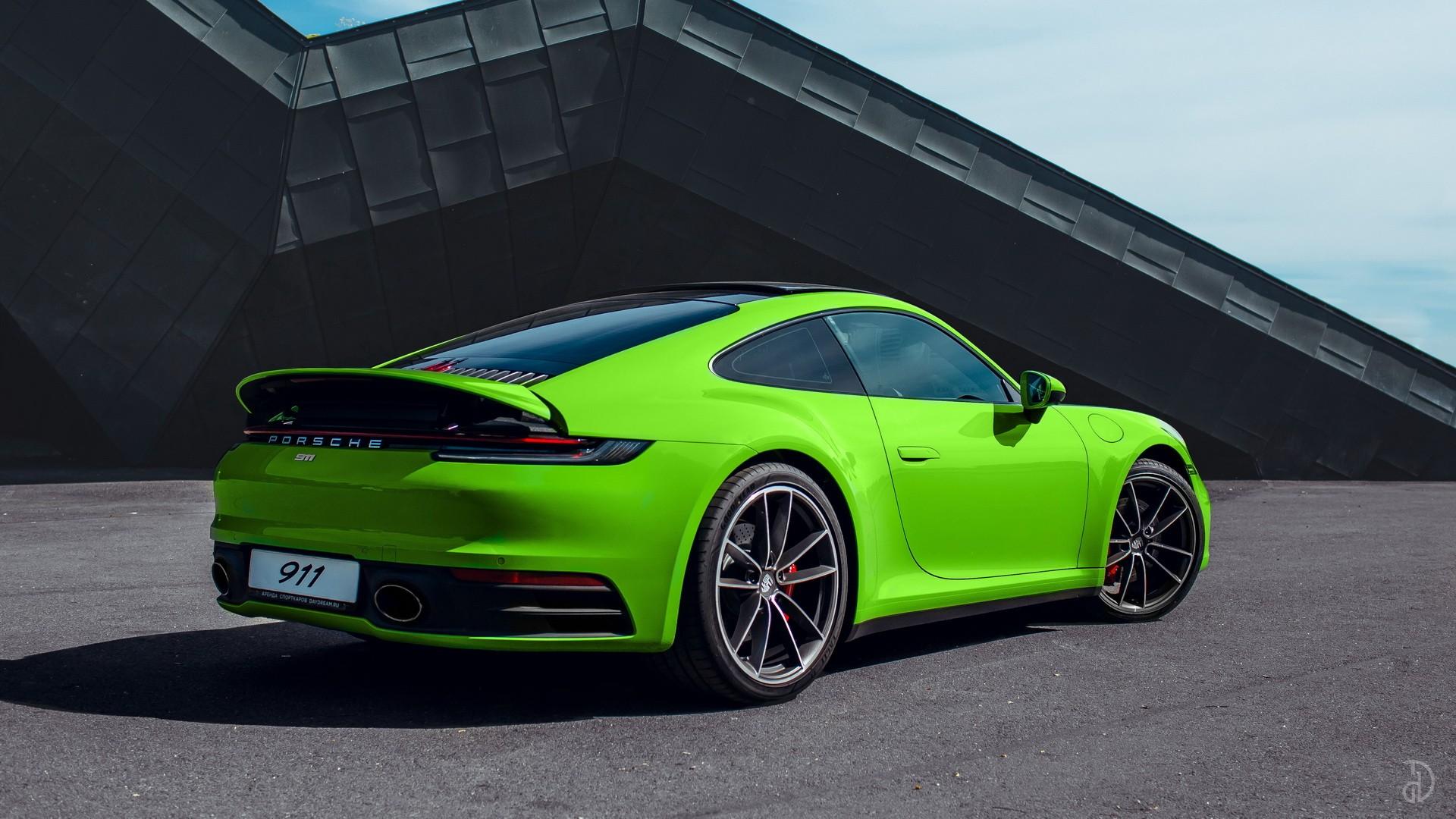 Porsche 911 Carrera 4S 992. Фото 5