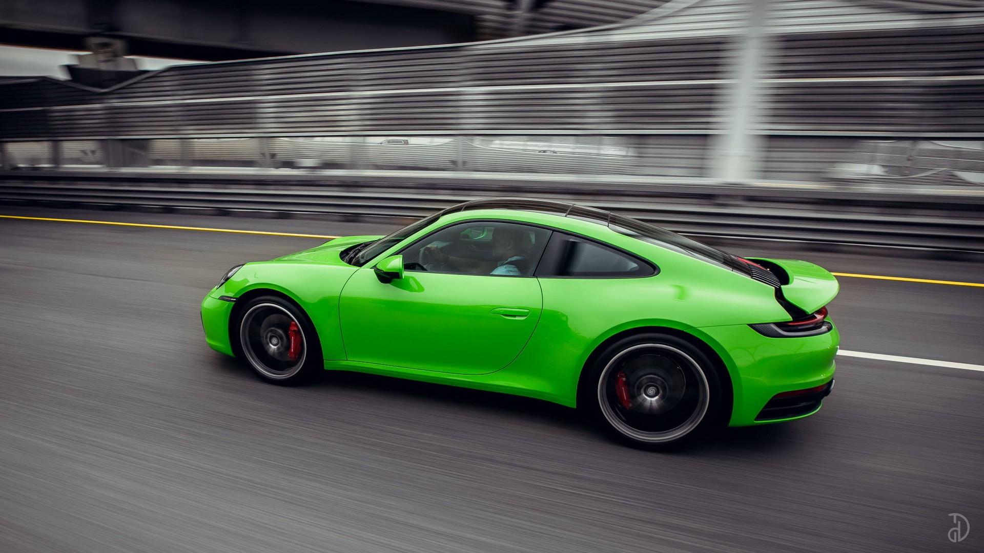 Porsche 911 Carrera 4S 992. Фото 8