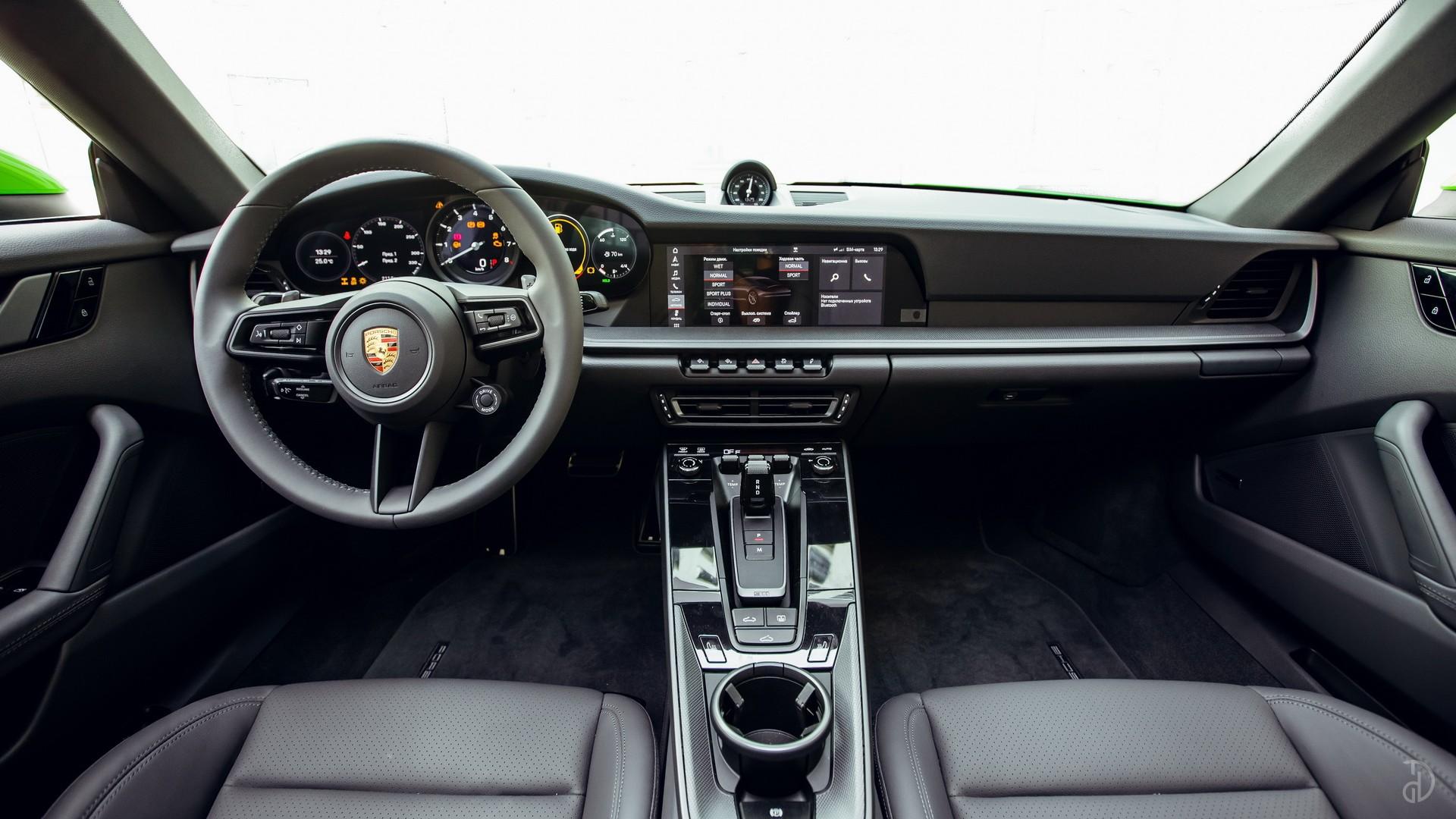 Porsche 911 Carrera 4S 992. Фото 14