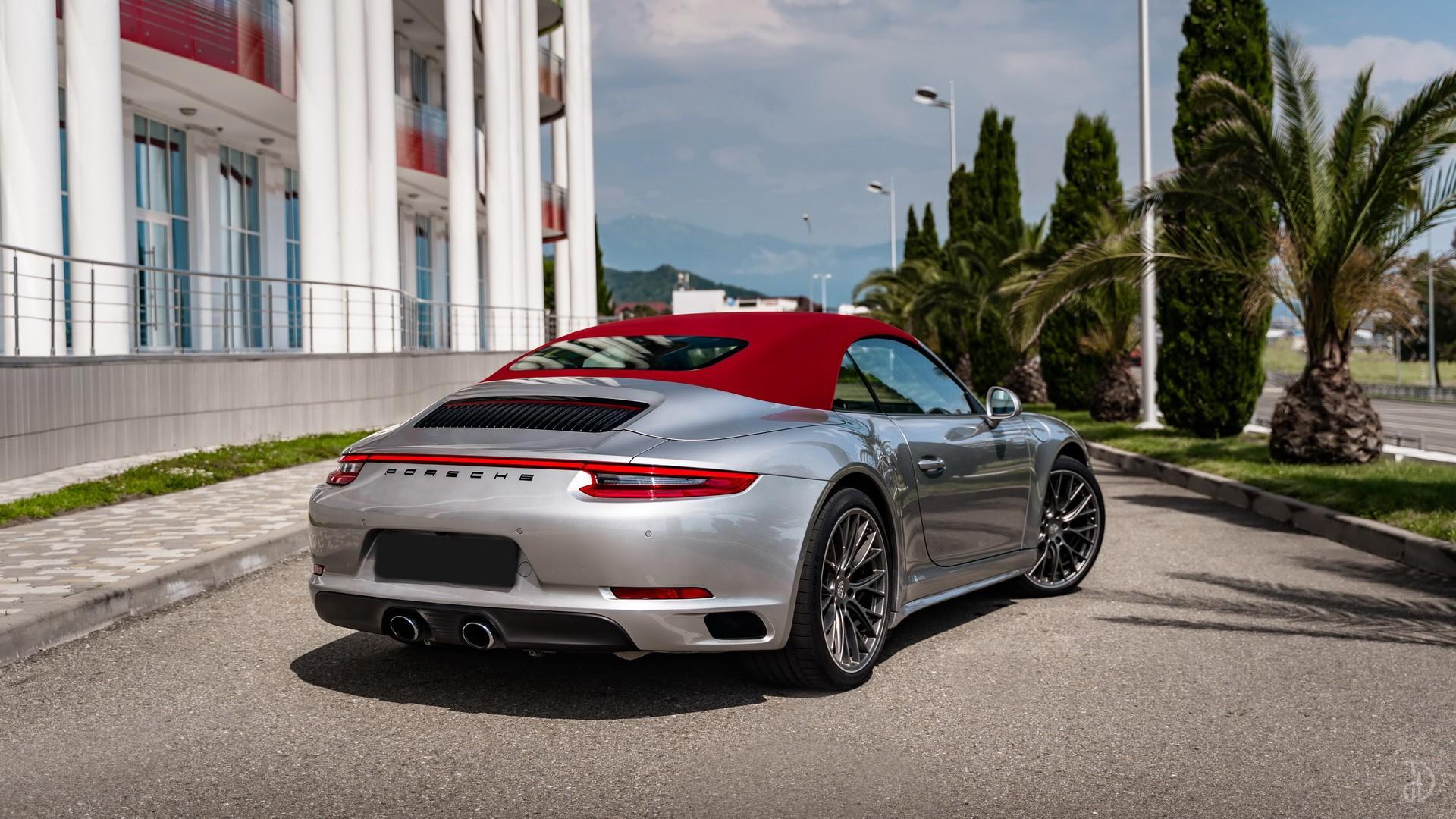 Аренда Porsche 911 Carrera 4S Cabriolet в Сочи. Фото 10