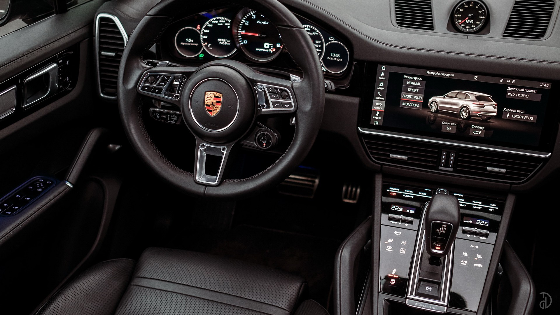 Porsche Cayenne Turbo. Фото 11