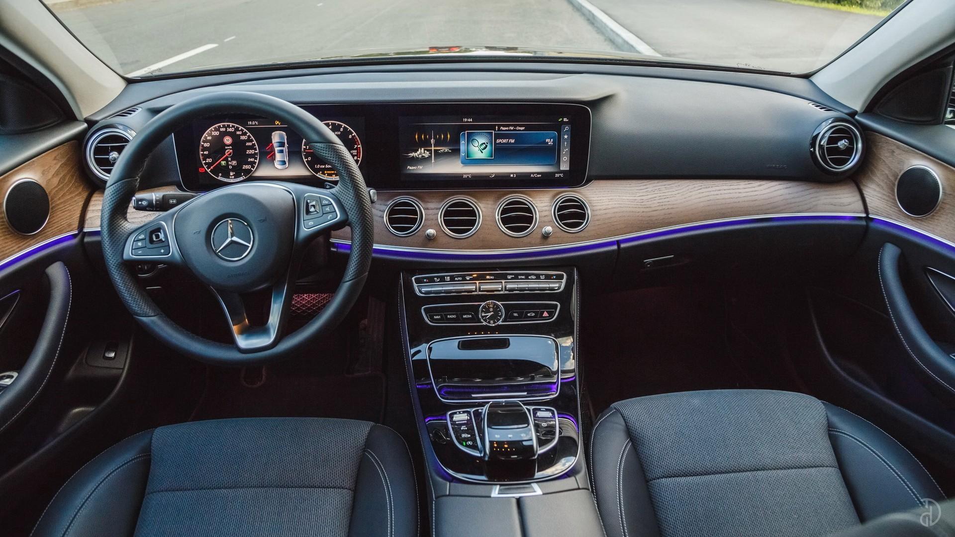Mercedes E 200 (W213). Фото 9