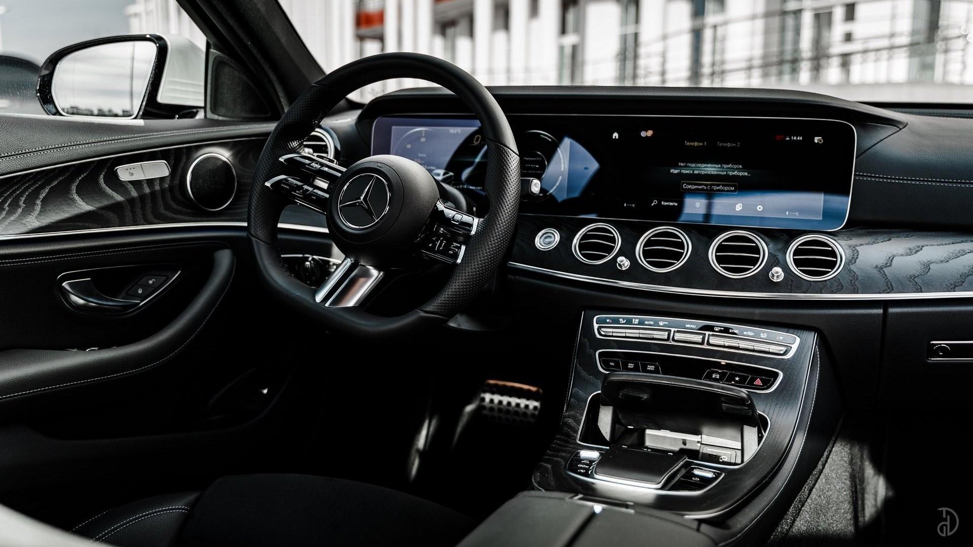 Аренда Mercedes E220d AMG Restyling 2020 в Сочи. Фото 15