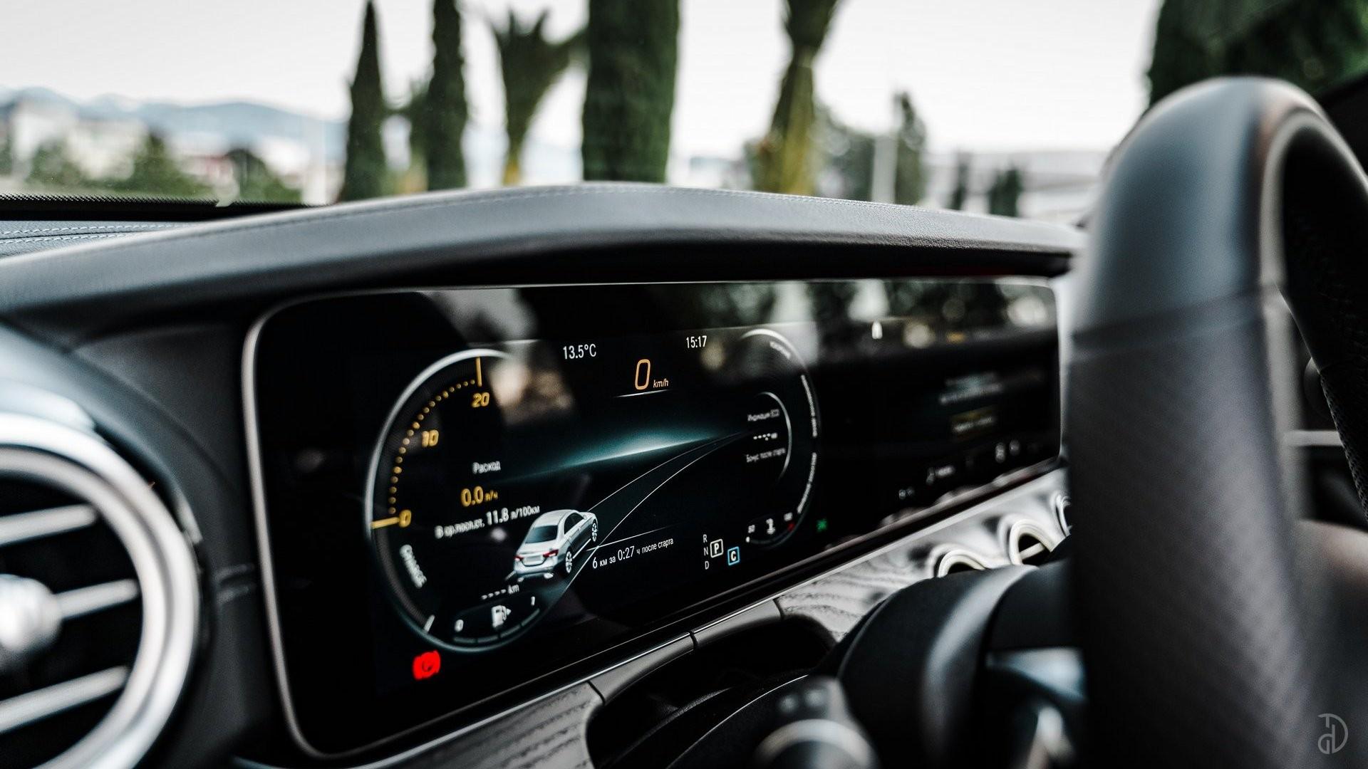 Аренда Mercedes E220d AMG Restyling 2020 в Сочи. Фото 14