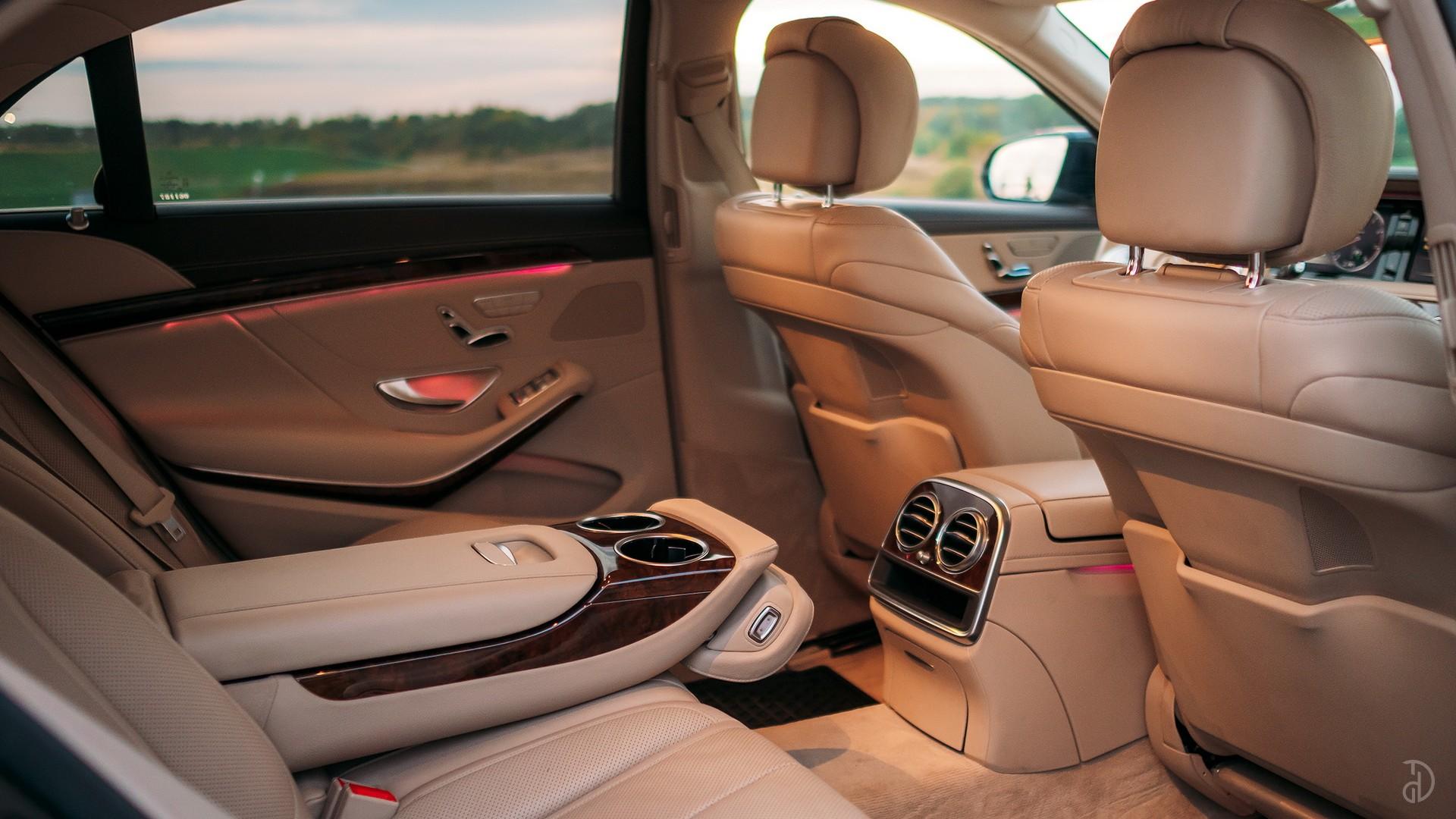 Mercedes S 500 (W222). Фото 14