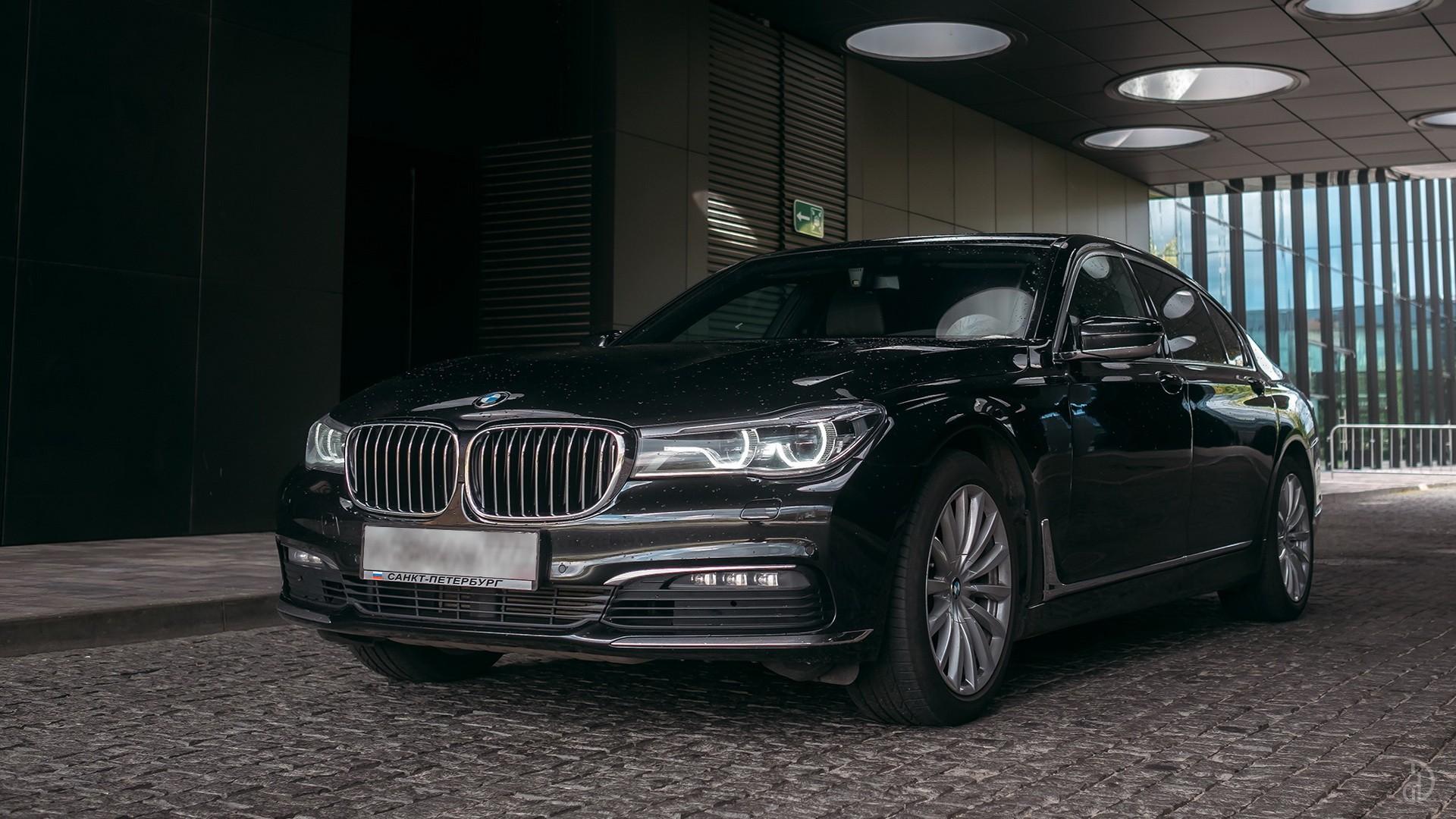 BMW 7 (730 L). Фото 2