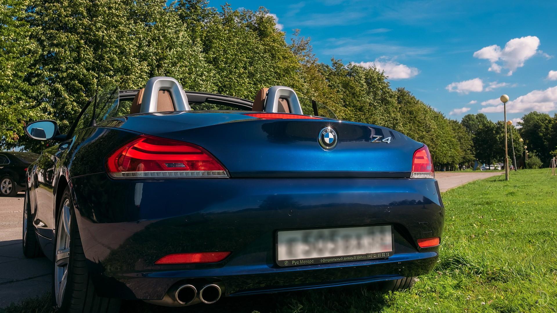 BMW Z4 Roadster. Фото 10