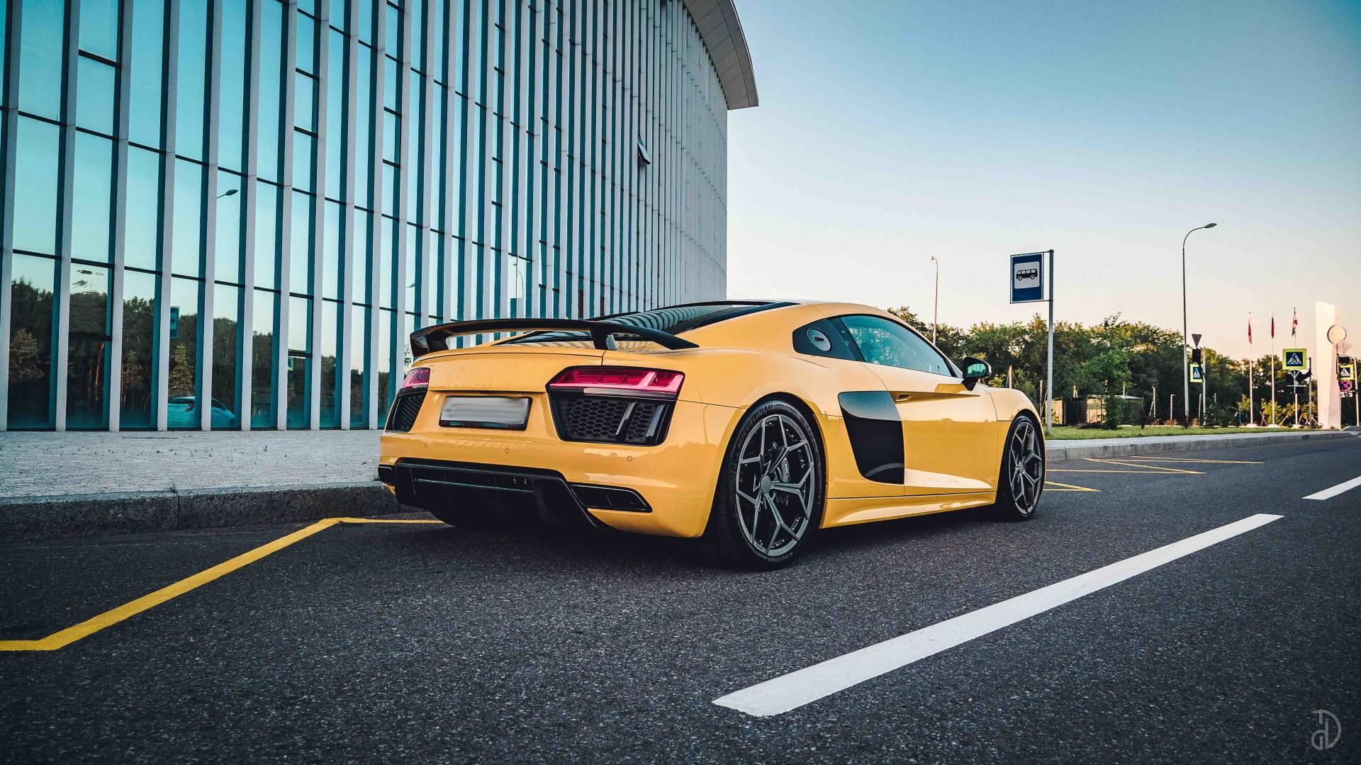 Audi R8. Фото 5
