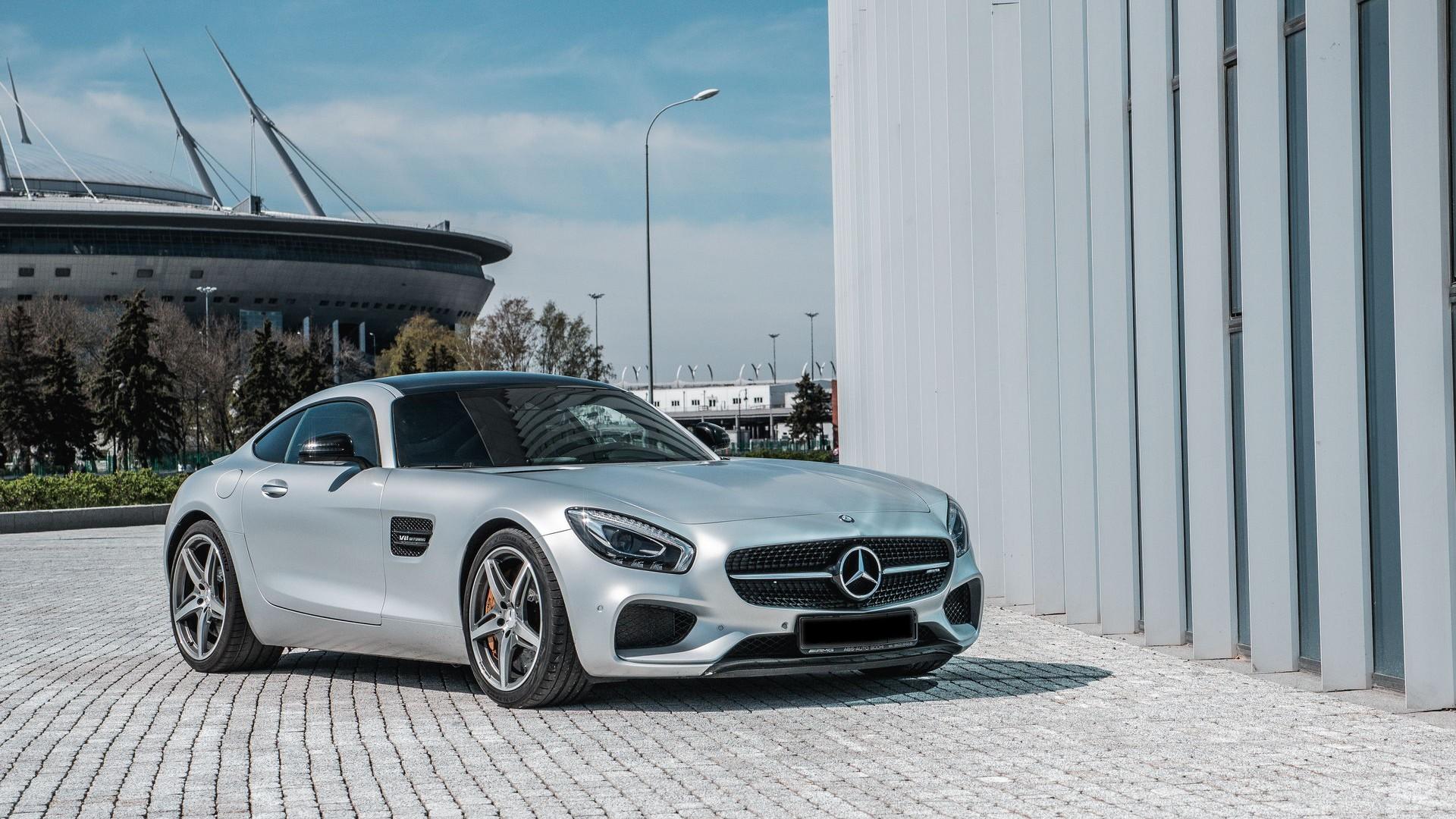 Mercedes AMG GTS. Фото 5