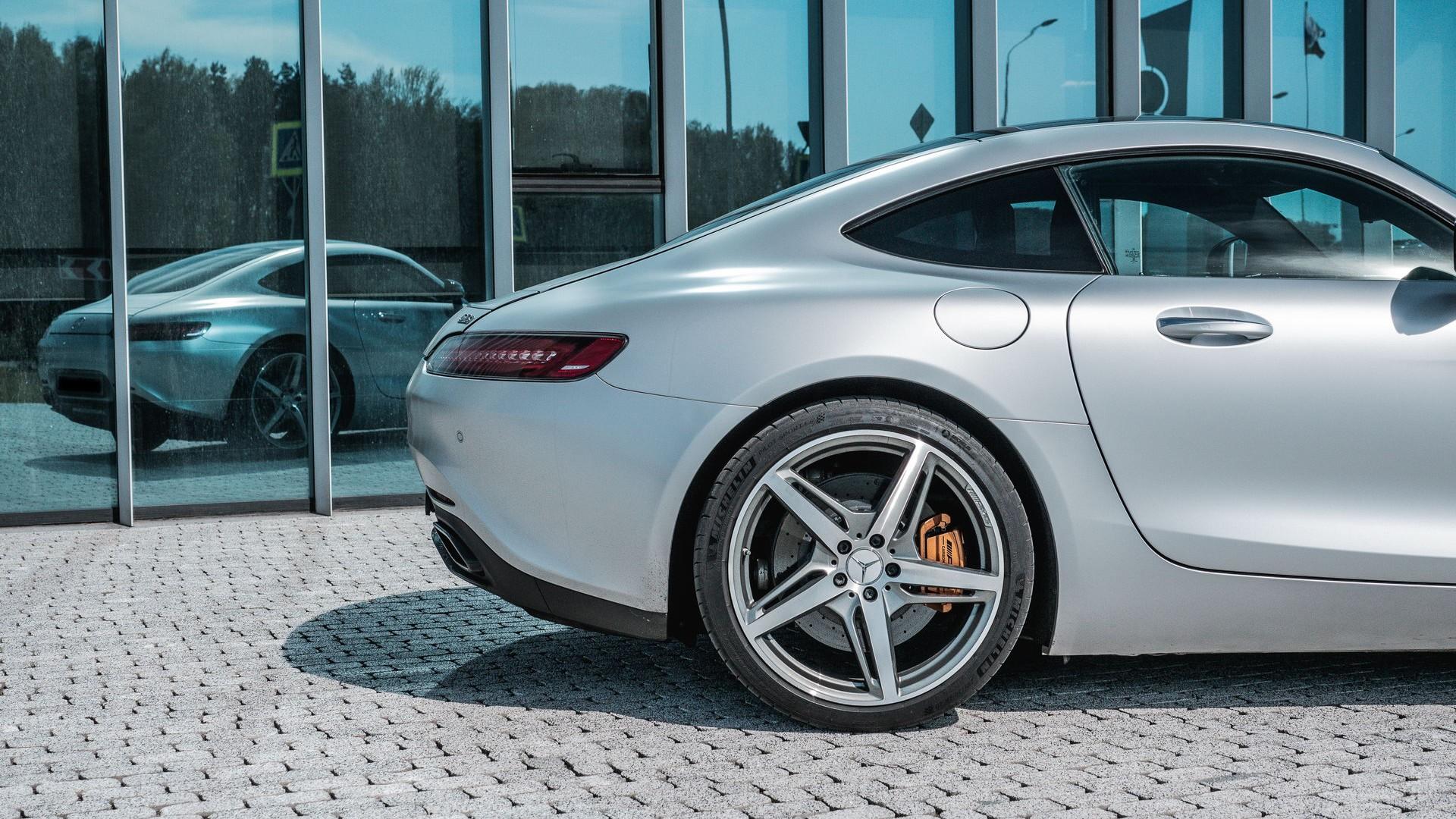 Mercedes AMG GTS. Фото 7