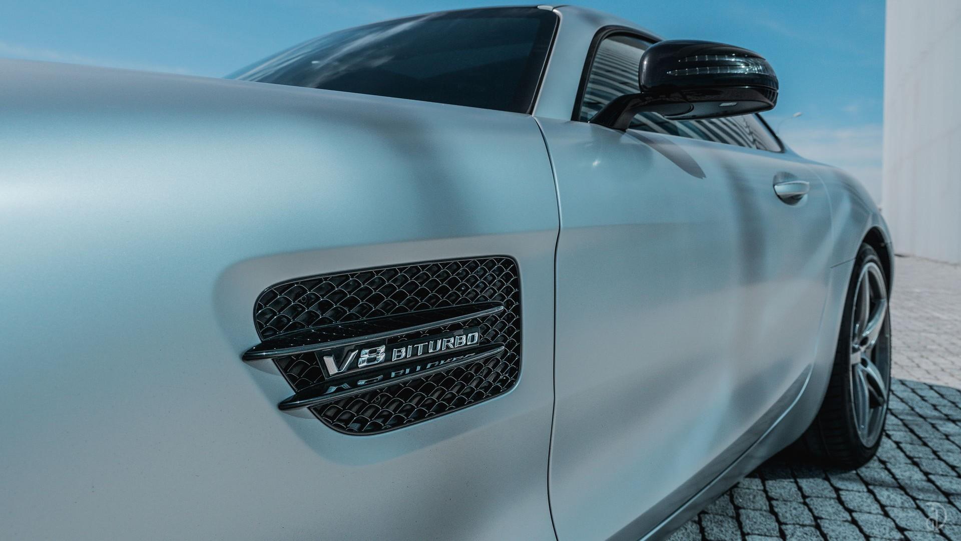 Mercedes AMG GTS. Фото 11
