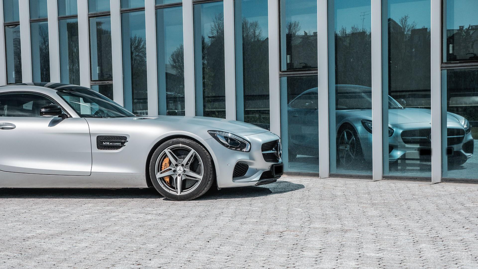 Mercedes AMG GTS. Фото 12