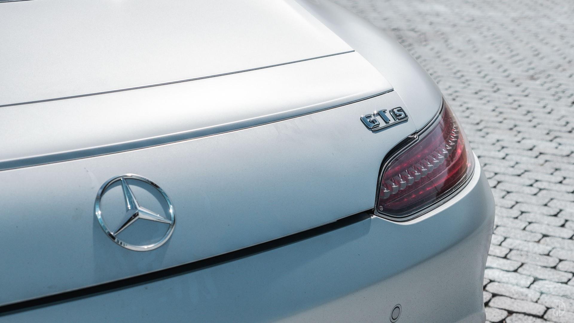 Mercedes AMG GTS. Фото 13