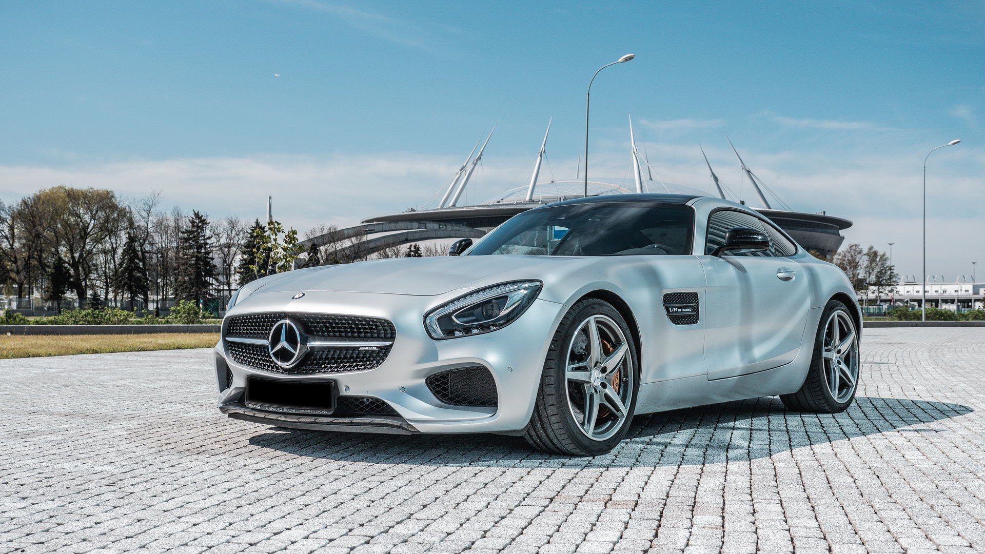 Mercedes AMG GTS. Фото 2