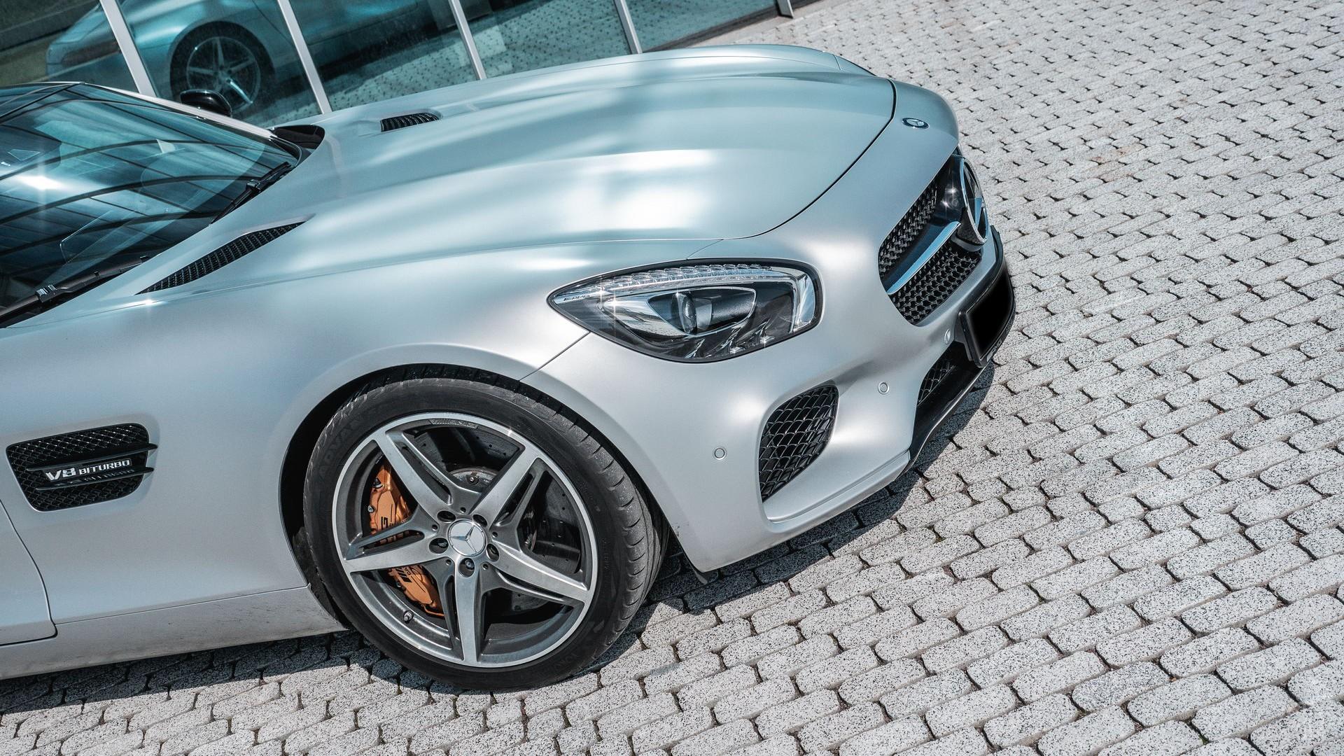 Mercedes AMG GTS. Фото 4