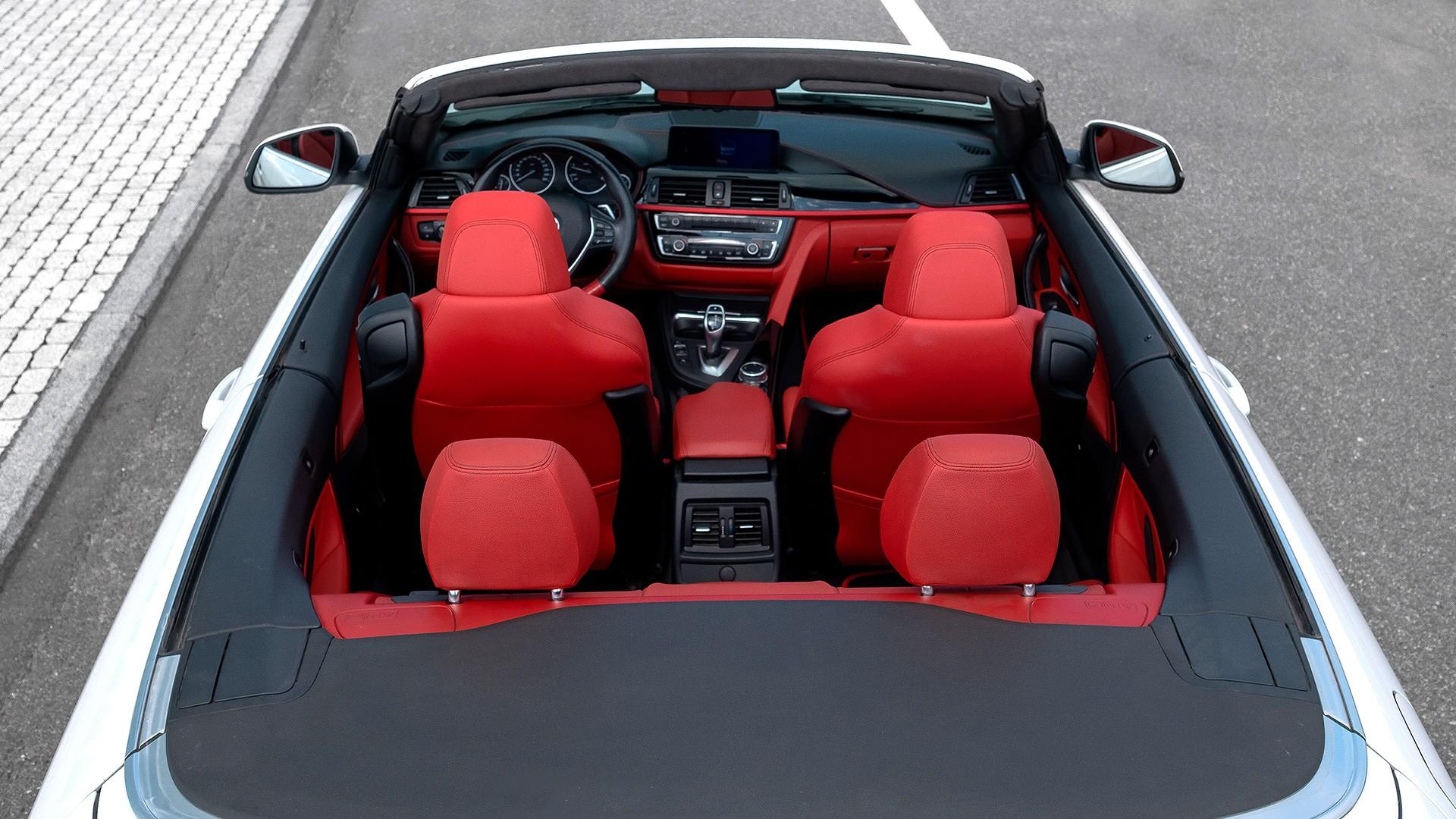 BMW 420 Cabriolet. Фото 9