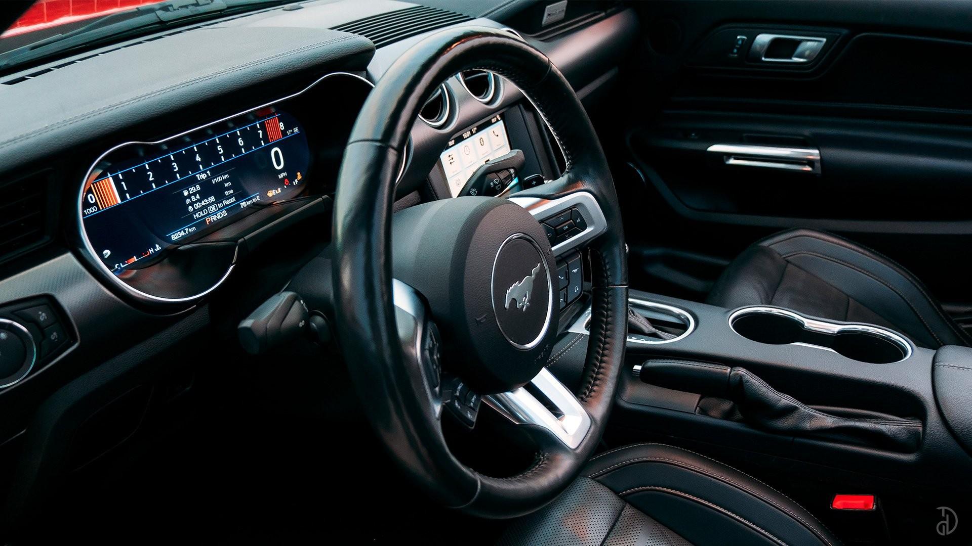 Аренда Ford Mustang GT 5.0  в Москве. Фото 16