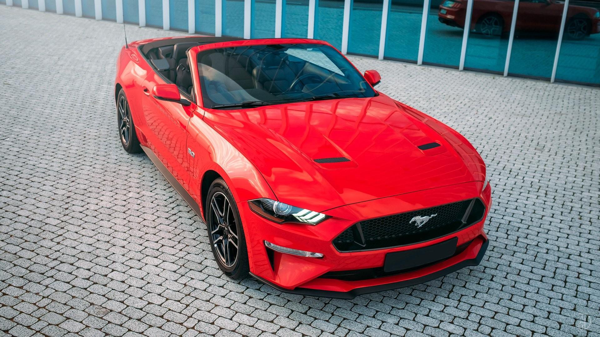 Аренда Ford Mustang GT 5.0  в Москве. Фото 3