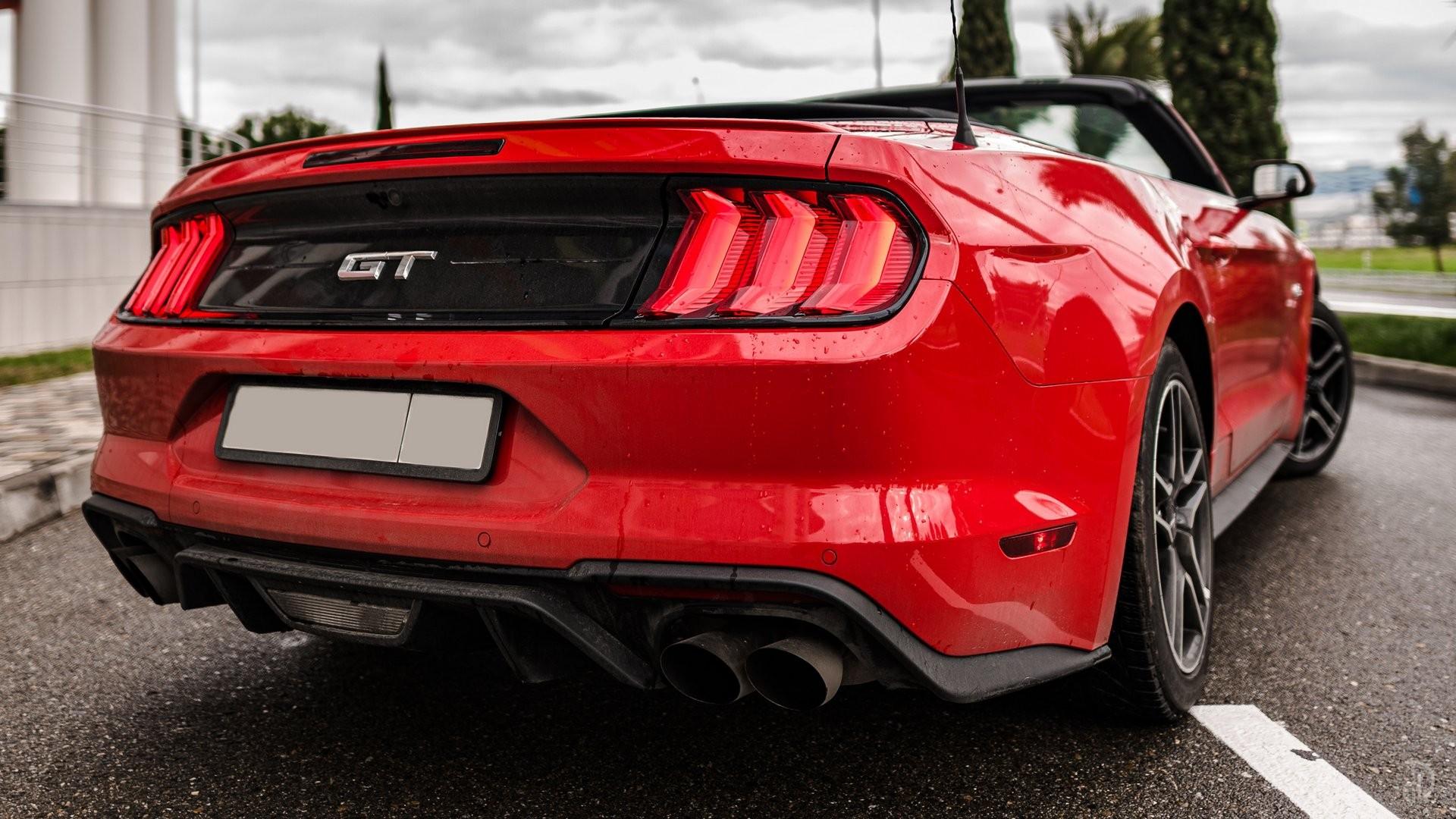 Аренда Ford Mustang GT 5.0 в Сочи. Фото 4